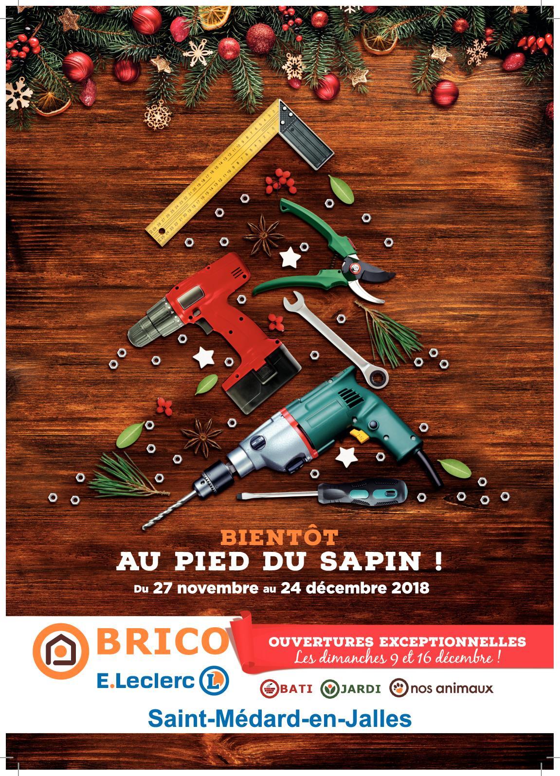 Calaméo Catalogue Cadeaux 2018 Brico Eleclerc Saint Médard