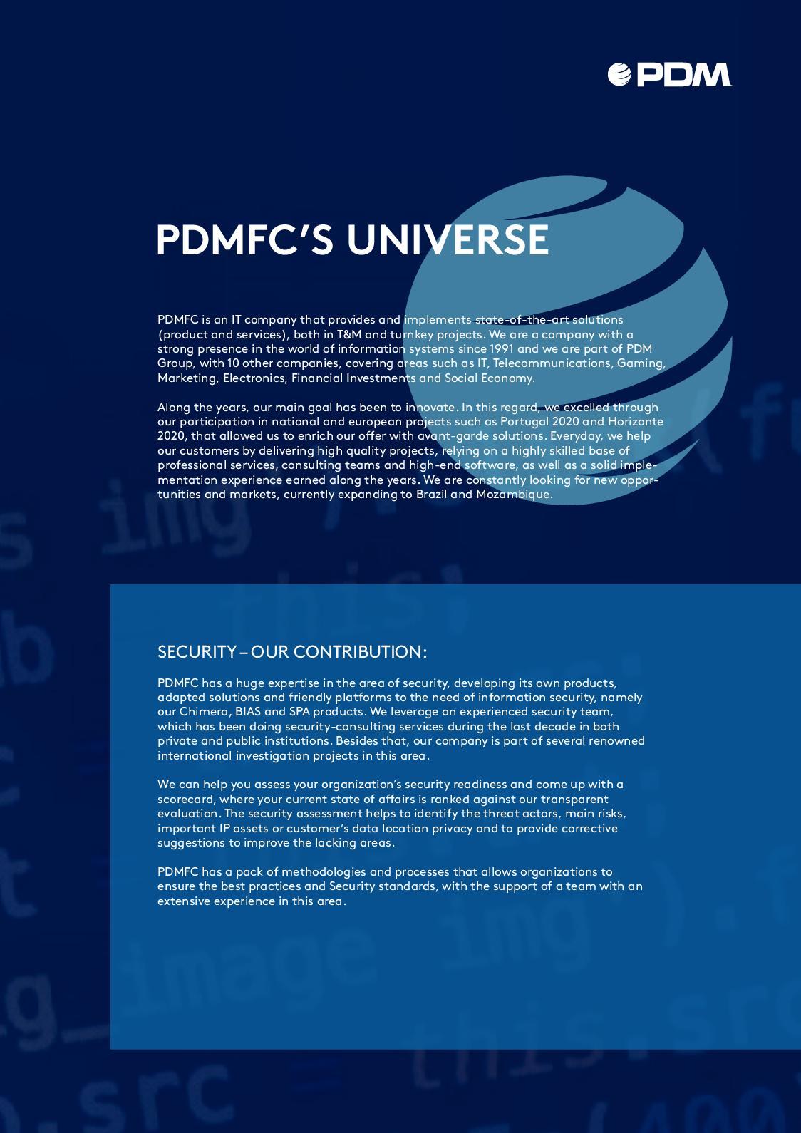 Calaméo - PDMFC Security