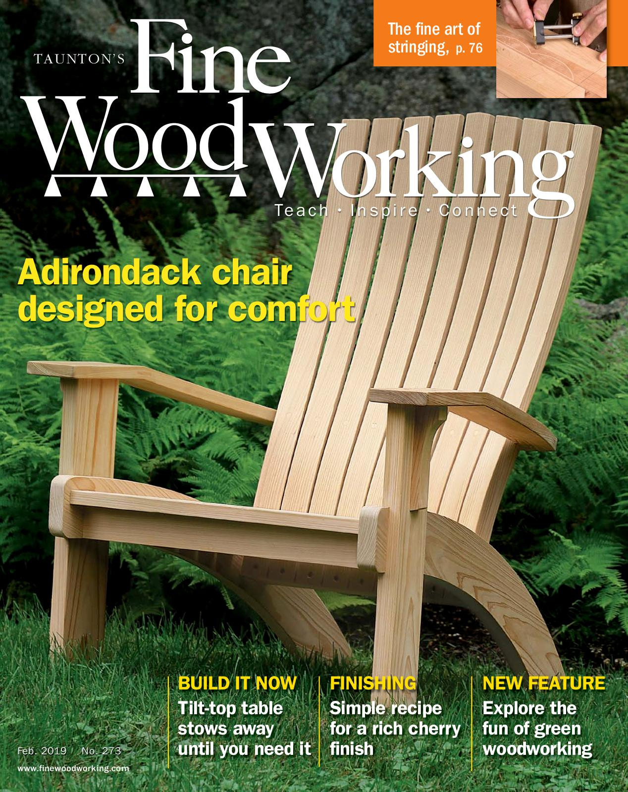 Calameo Fine Woodworking 273 January February 2019 Preview