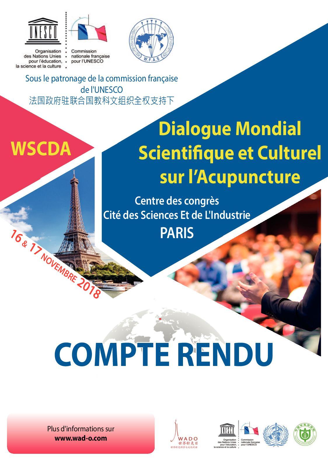 Calaméo Le Résumé Conférences Wscda Paris 2018