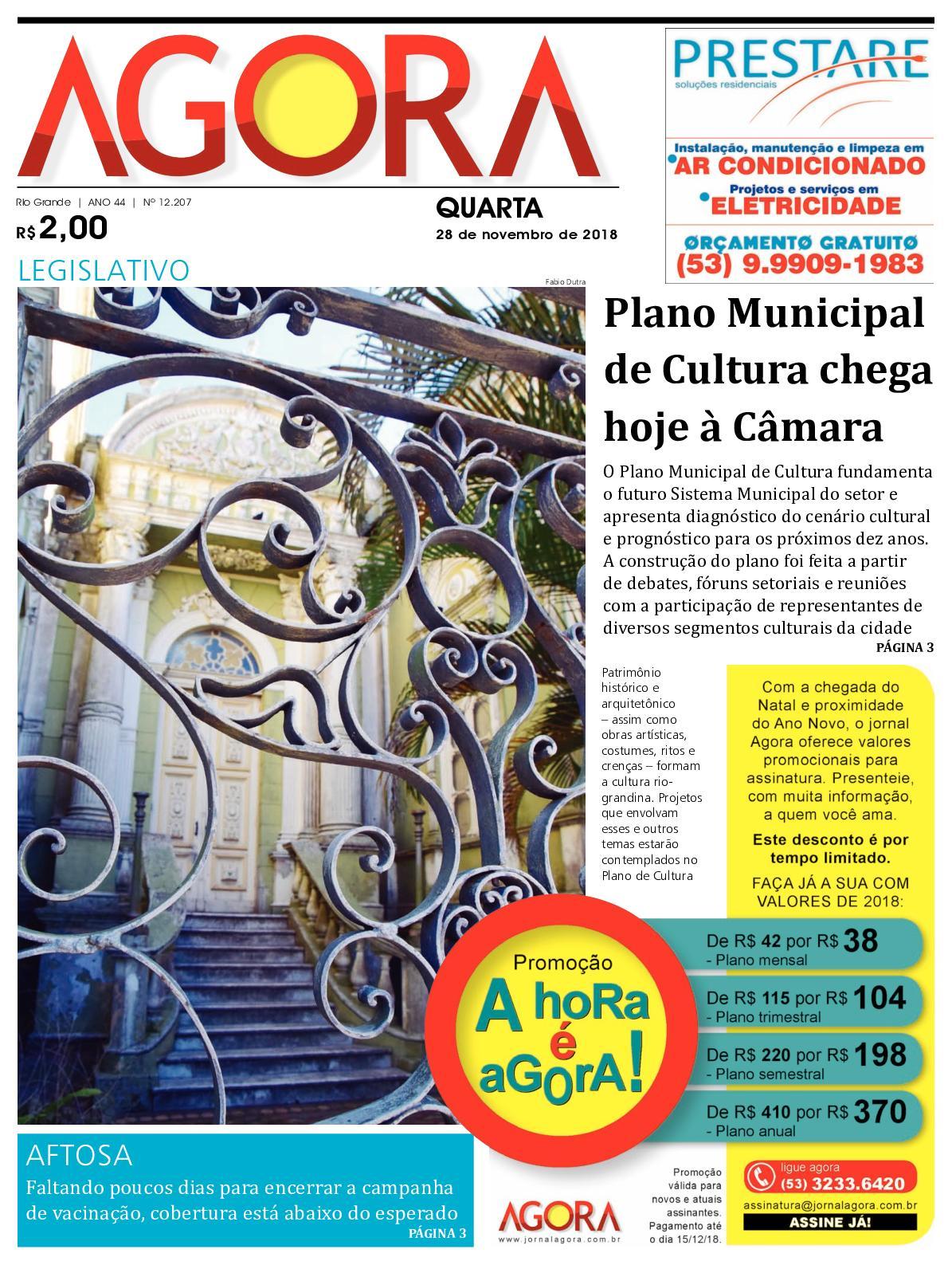 Calaméo - Jornal Agora - Edição 12207 - 28 de Novembro de 2018 c520ba6d55