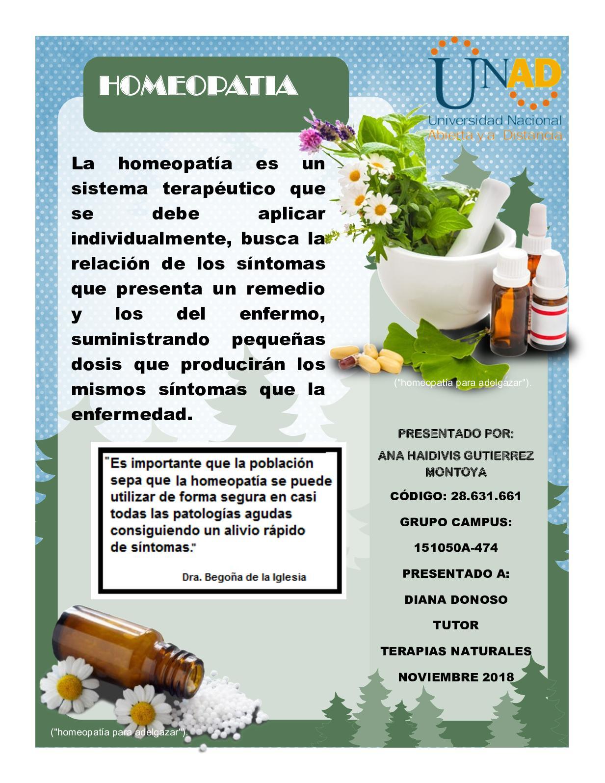 Medicamento homeopatico para adelgazar rapido