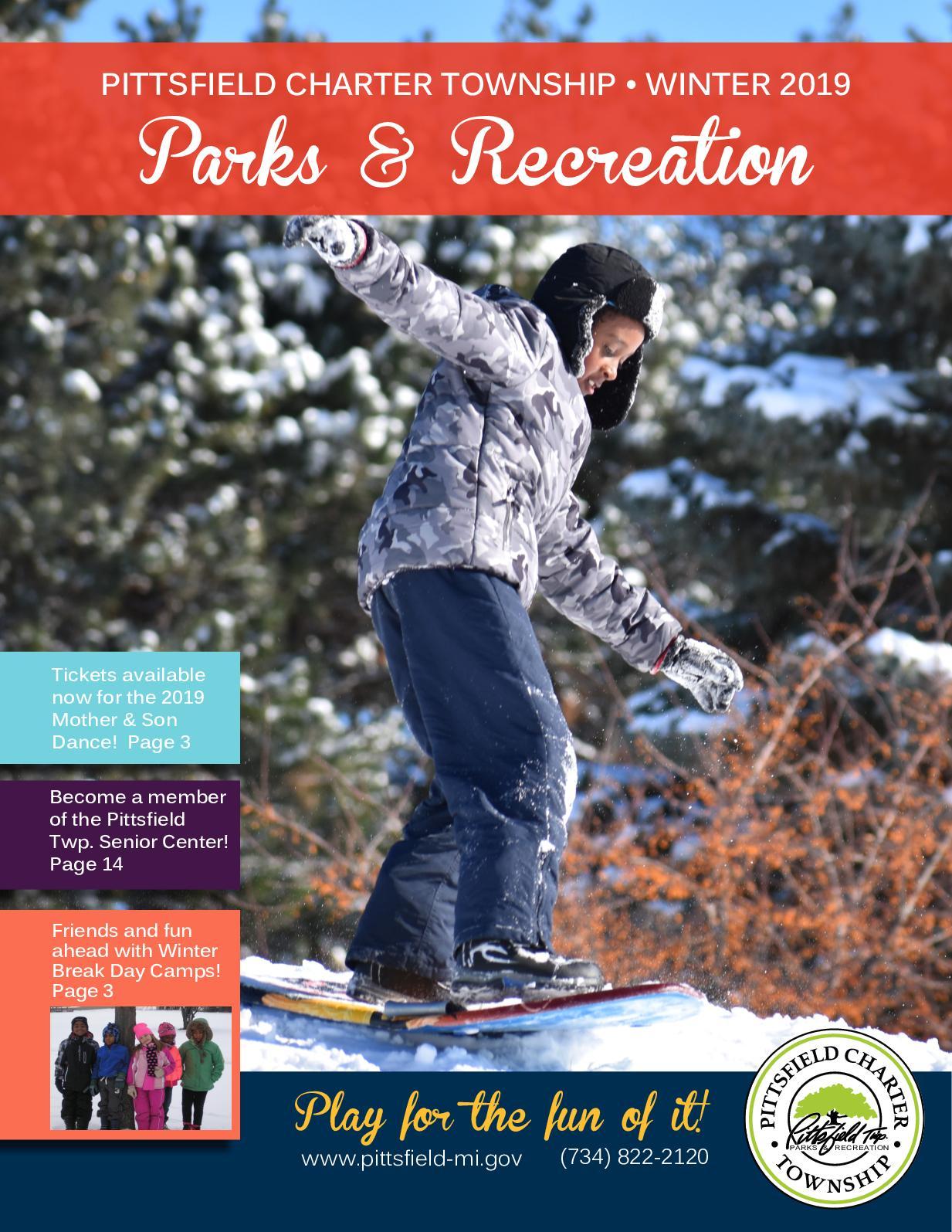 Calaméo - Winter 2019 P&R Brochure