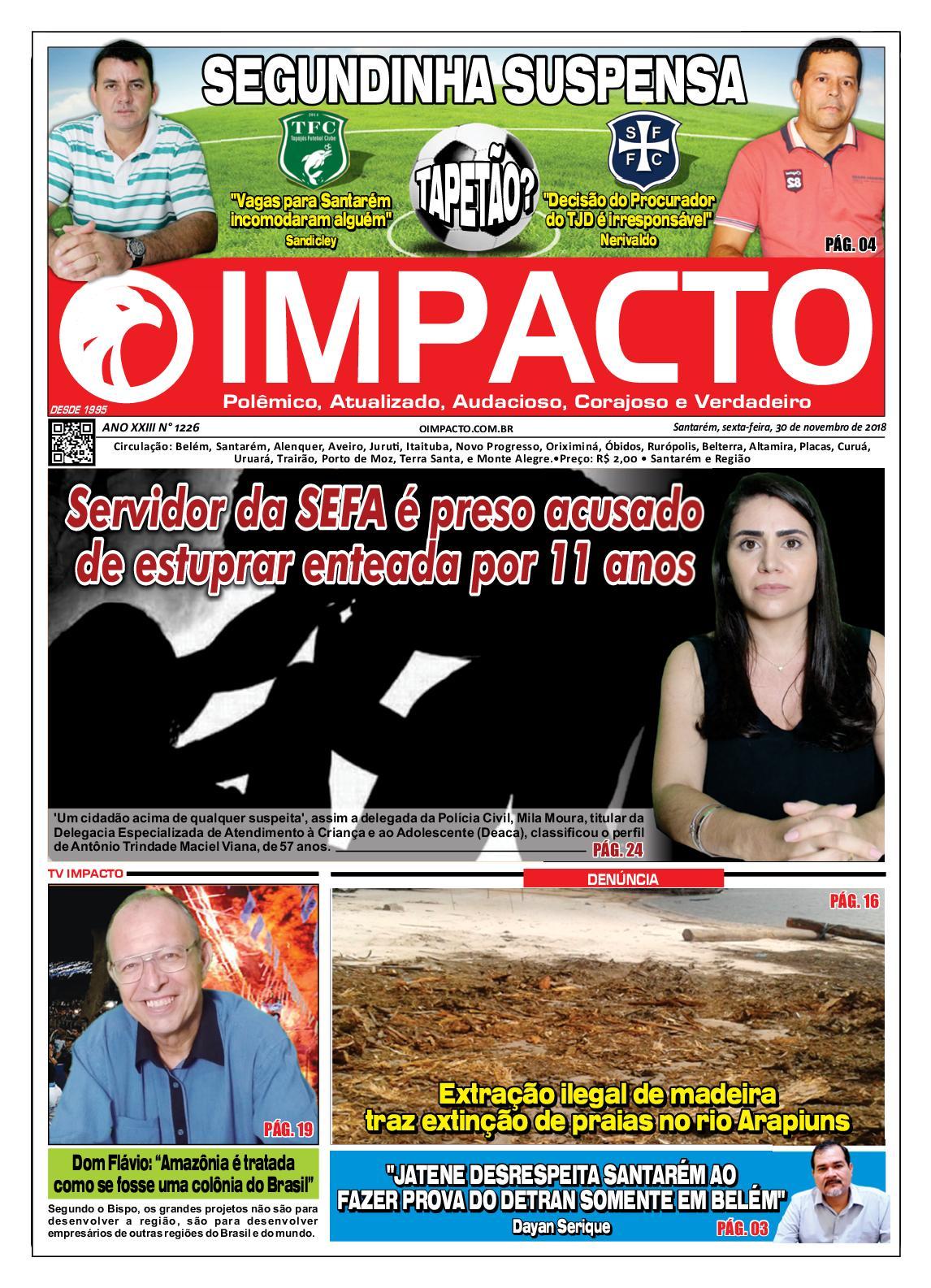 Calaméo - Jornal O Impacto Ed. 1226 11d27724cc7