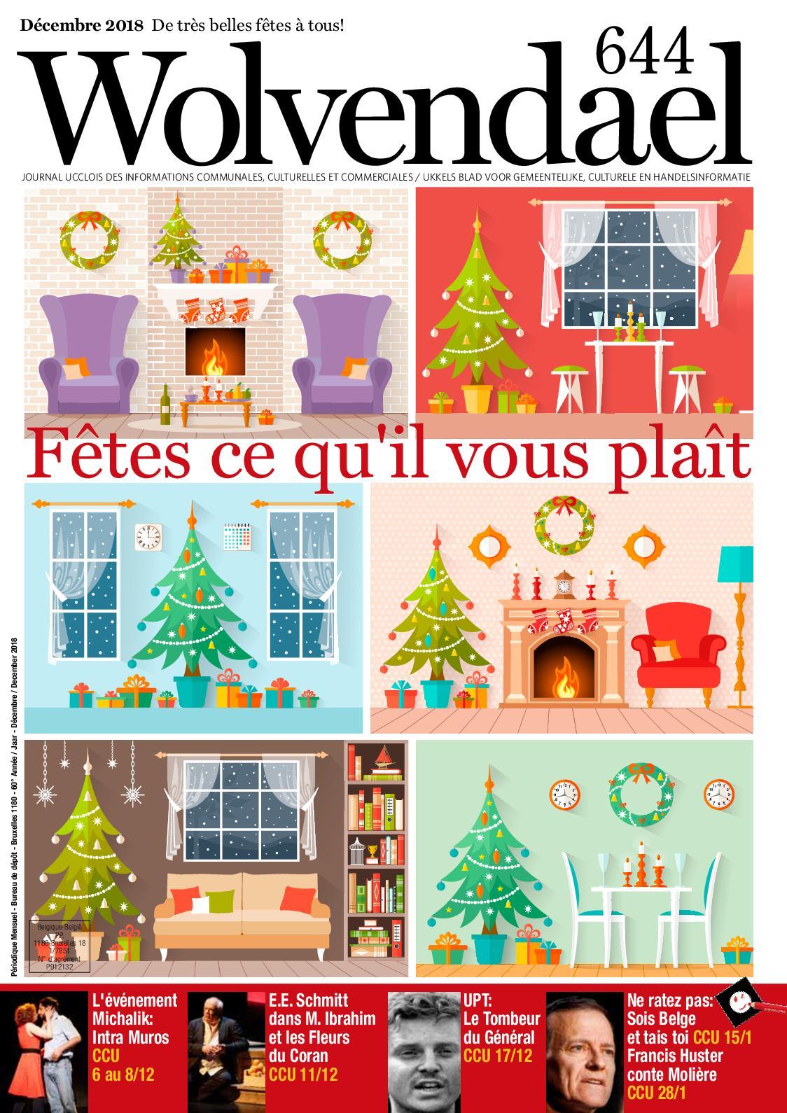 2018 644 N° Calaméo Wolvendael Magazine Décembre lF1KJTc