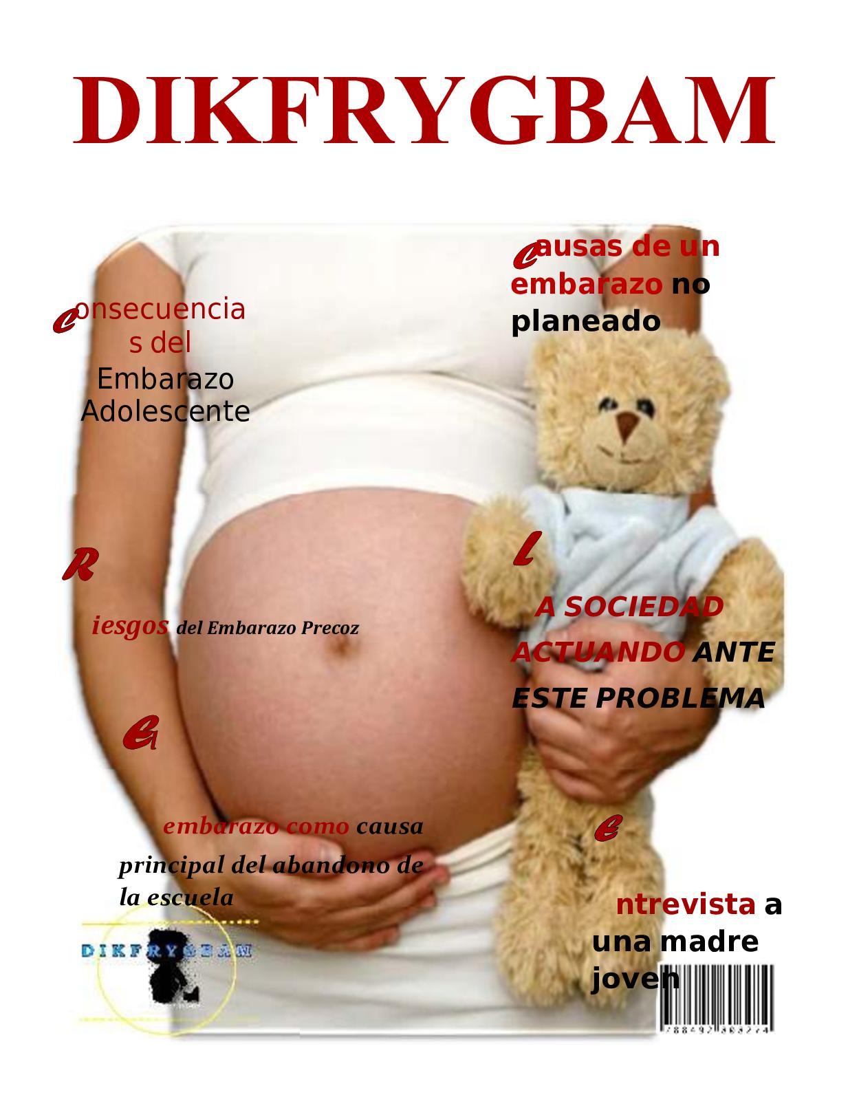 5761262fc Calaméo - Revista embarazo adolescente