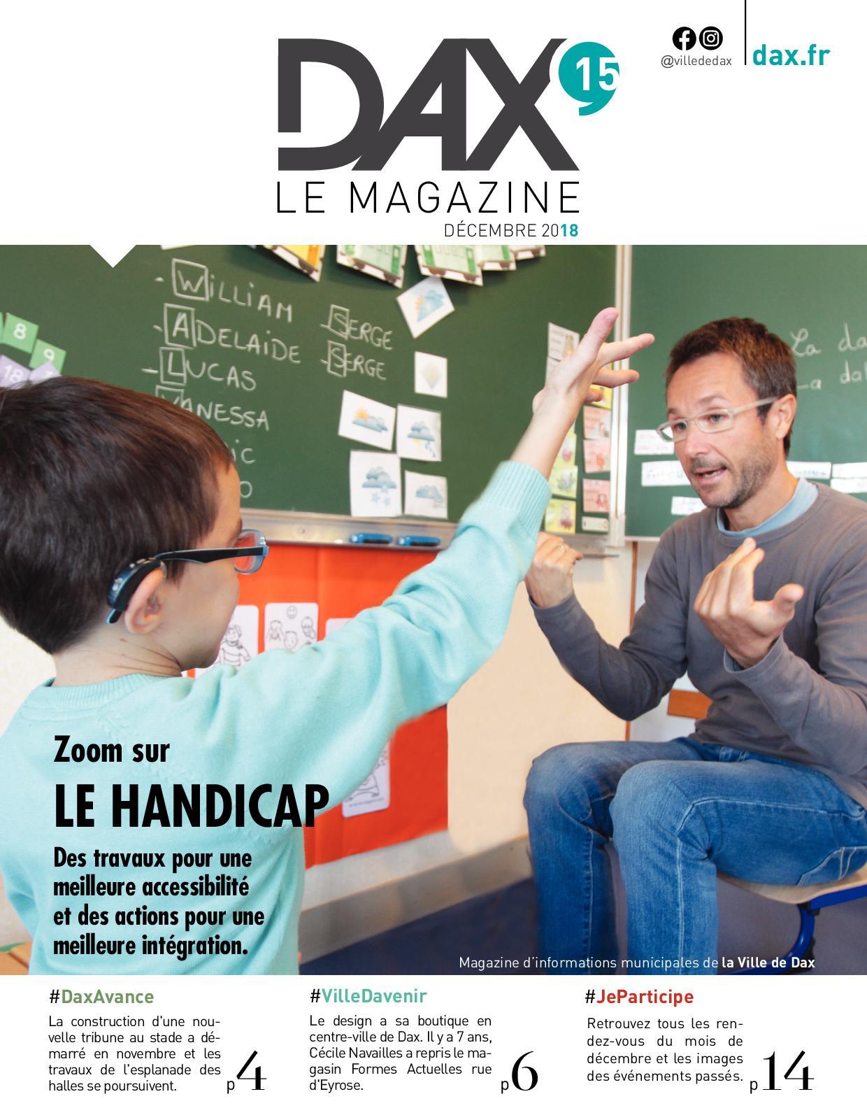e6aca8767304 Calaméo - Dax, le magazine décembre 2018