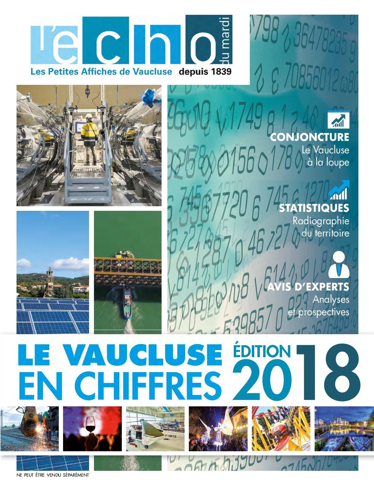 Calaméo - Le Vaucluse en Chiffres - Edition 2018 13319e14ff12