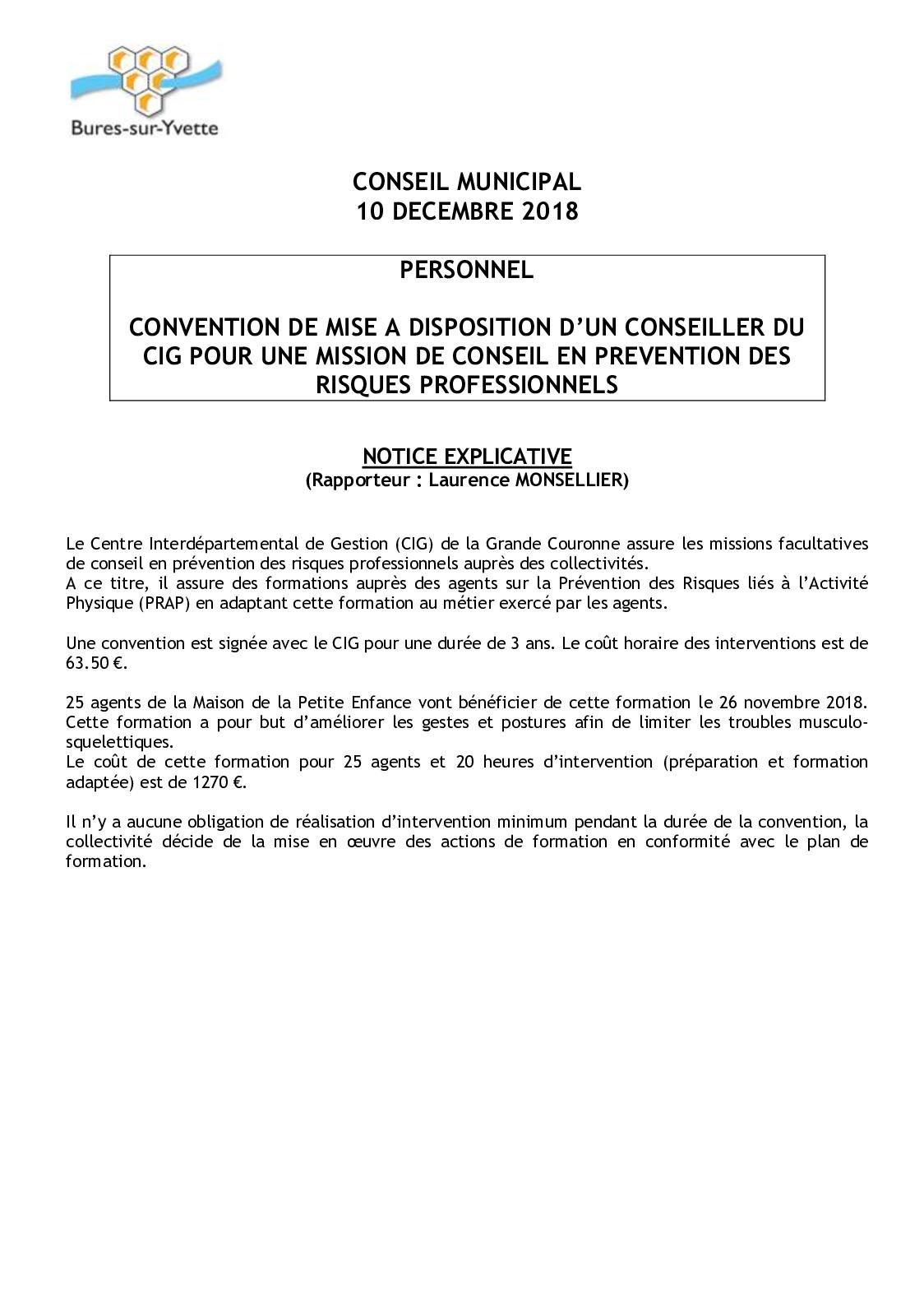 e52f7406bbb Calaméo - 16 01- NOTICE+PROJETDELIB - CONVENTION MAD D UN CONSEILLER DU CIG  POUR DES MISSIONS DE PREVENTION