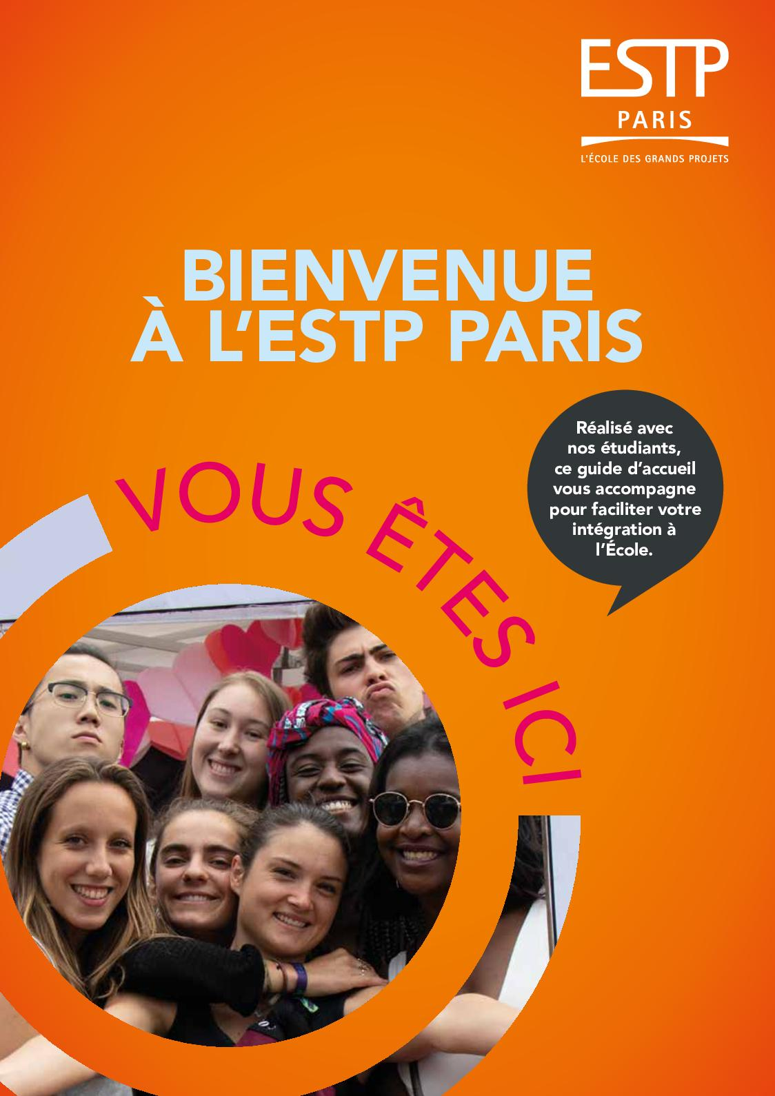 Calaméo   Livret d'Accueil des Etudiants | ESTP Paris