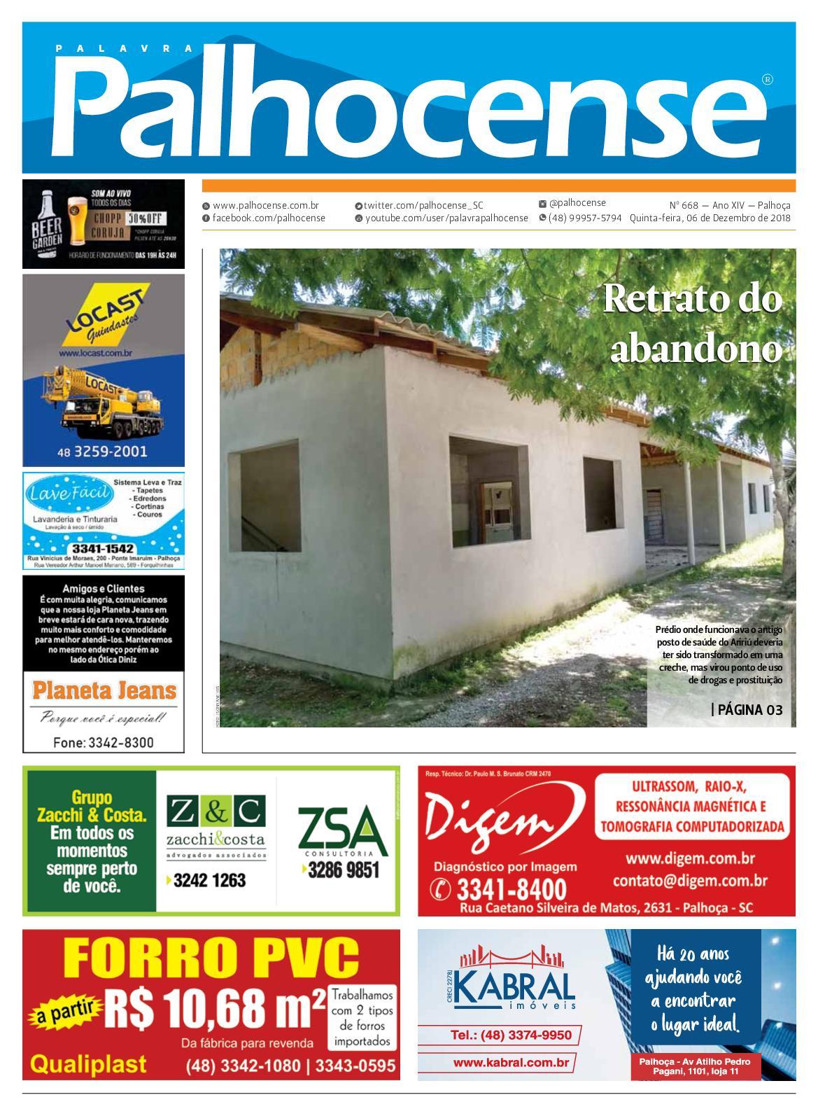 Calaméo - JORNAL PALAVRA PALHOCENSE - EDIÇÃO 668 7e4a83f386