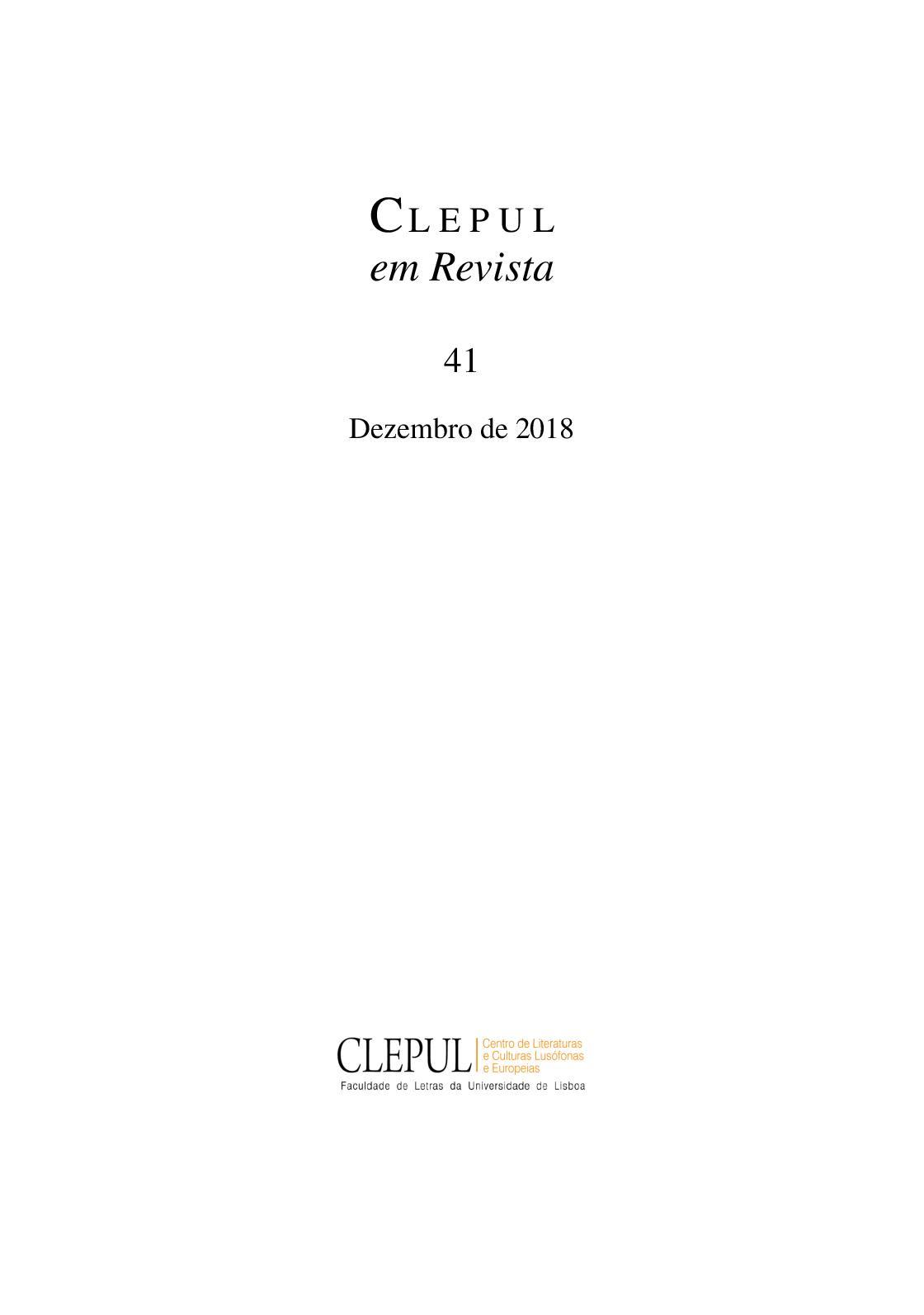 Calaméo - CLEPUL em Revista a8613e89687