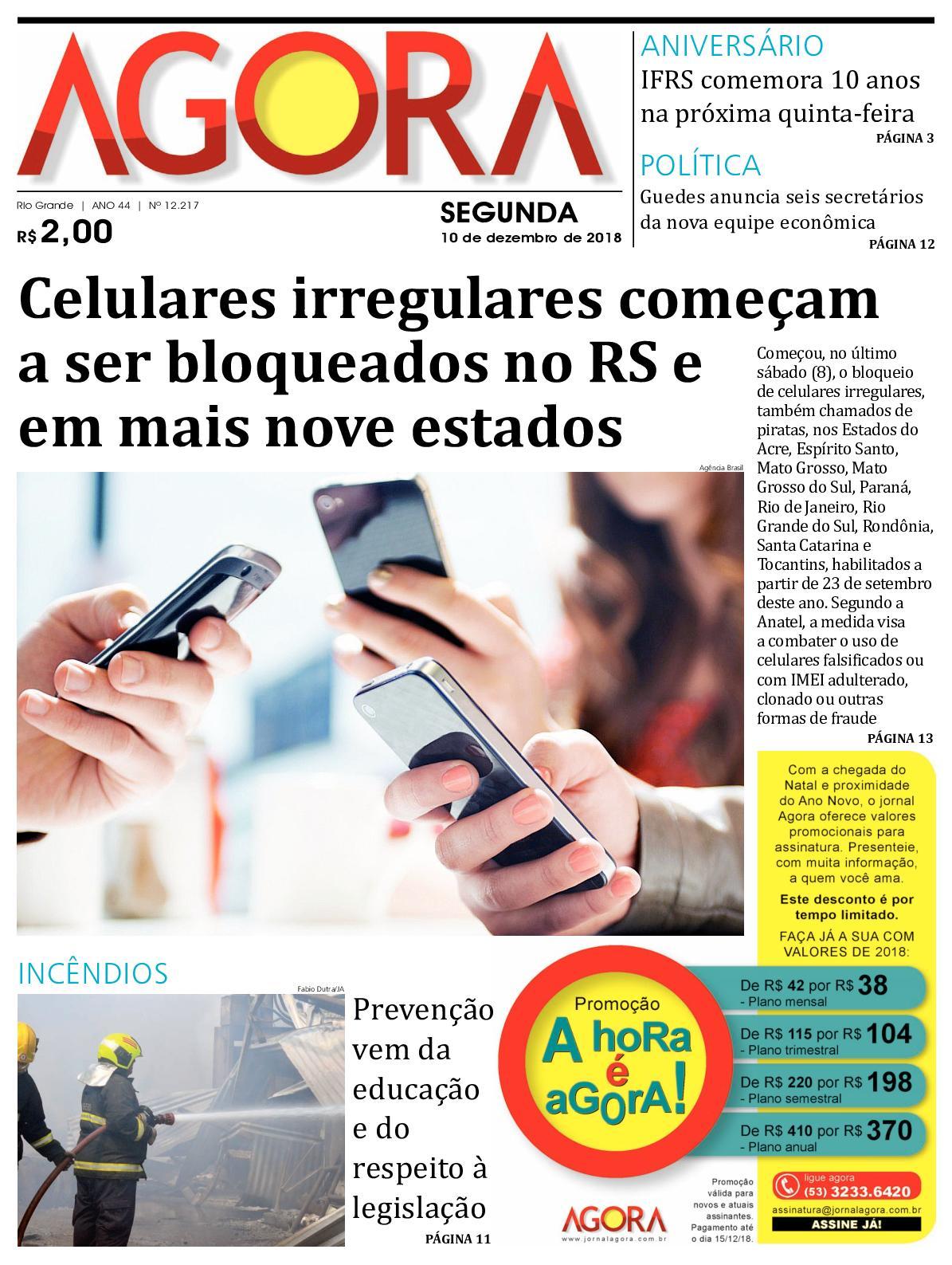 Calaméo - Jornal Agora - Edição 12217 - 10 de Dezembro de 2018 048097a1fc
