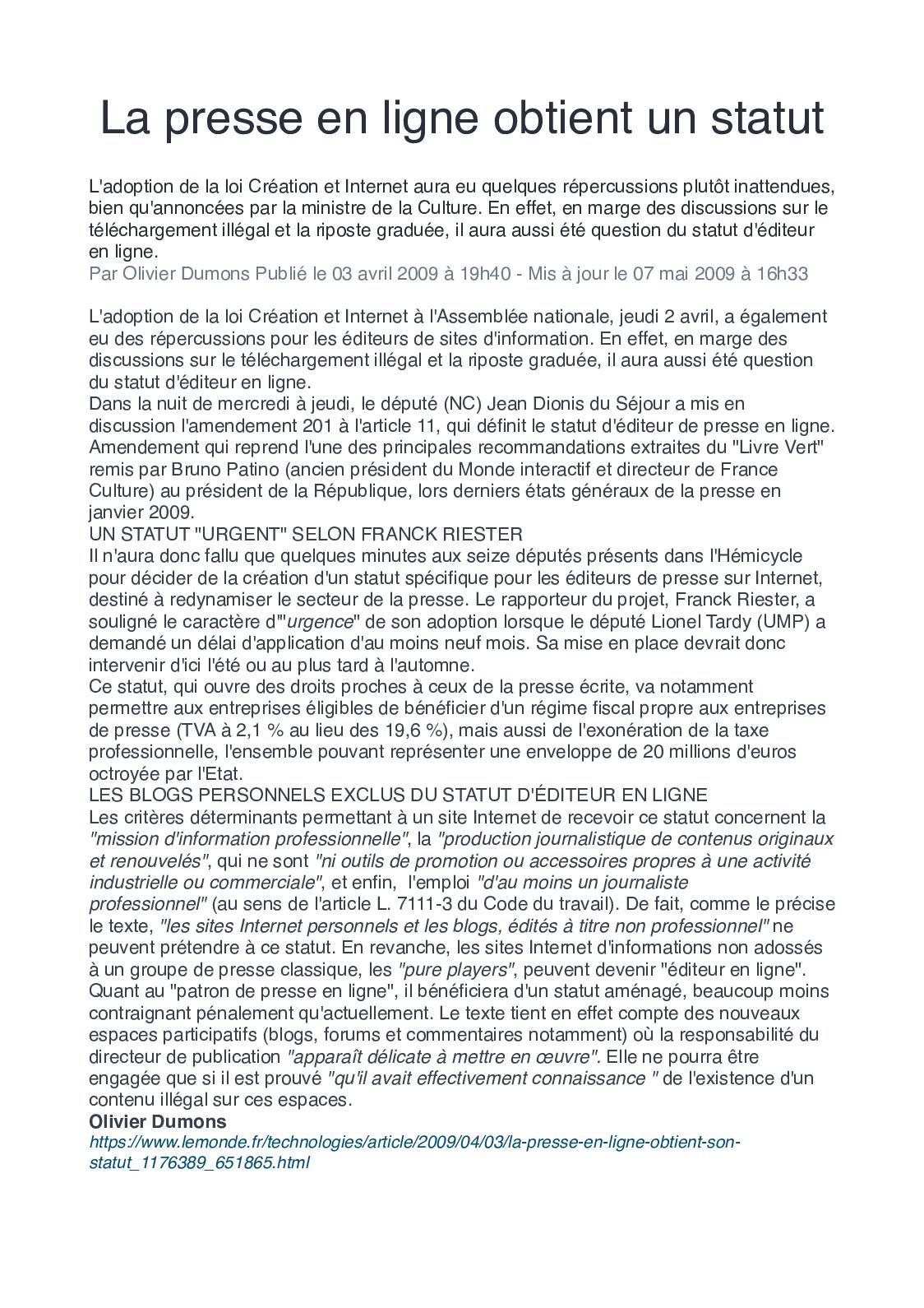 Dissertation pour ou contre la censure