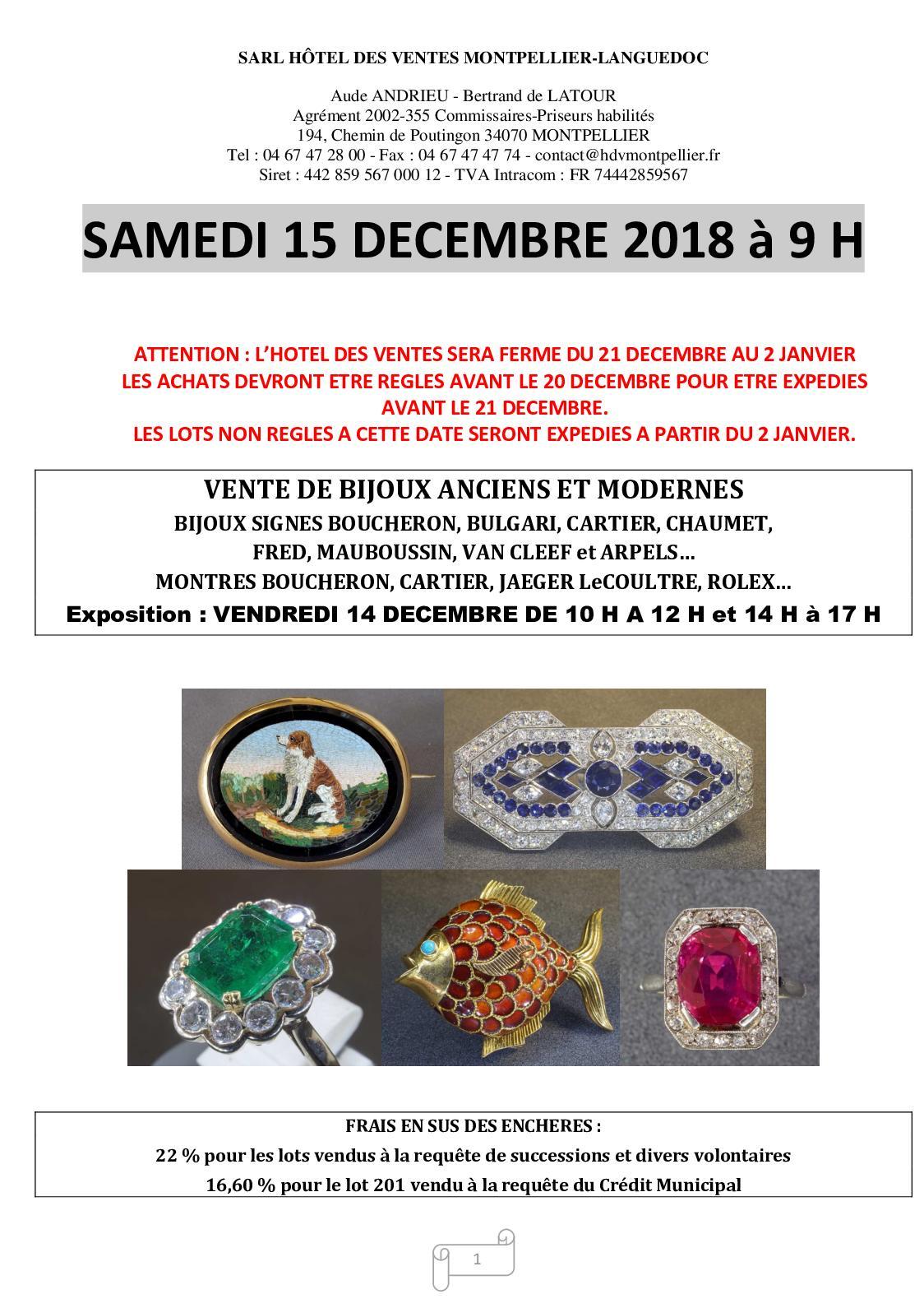 3cd45a8252 Calaméo - BIJOUX ANCIENS ET MODERNES - VINTAGE - Samedi 15 décembre 2018 à  09:00