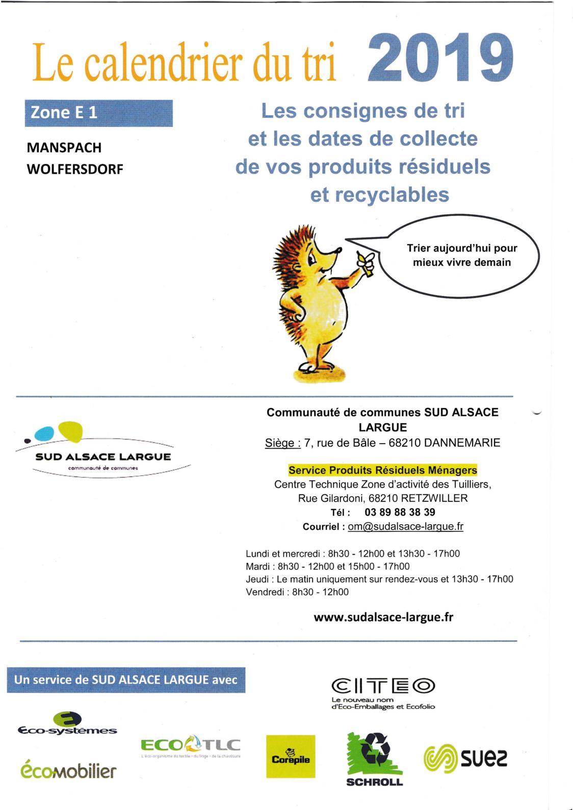 Calendrier Encombrants 77.Calameo Calendrier Du Tri 2019