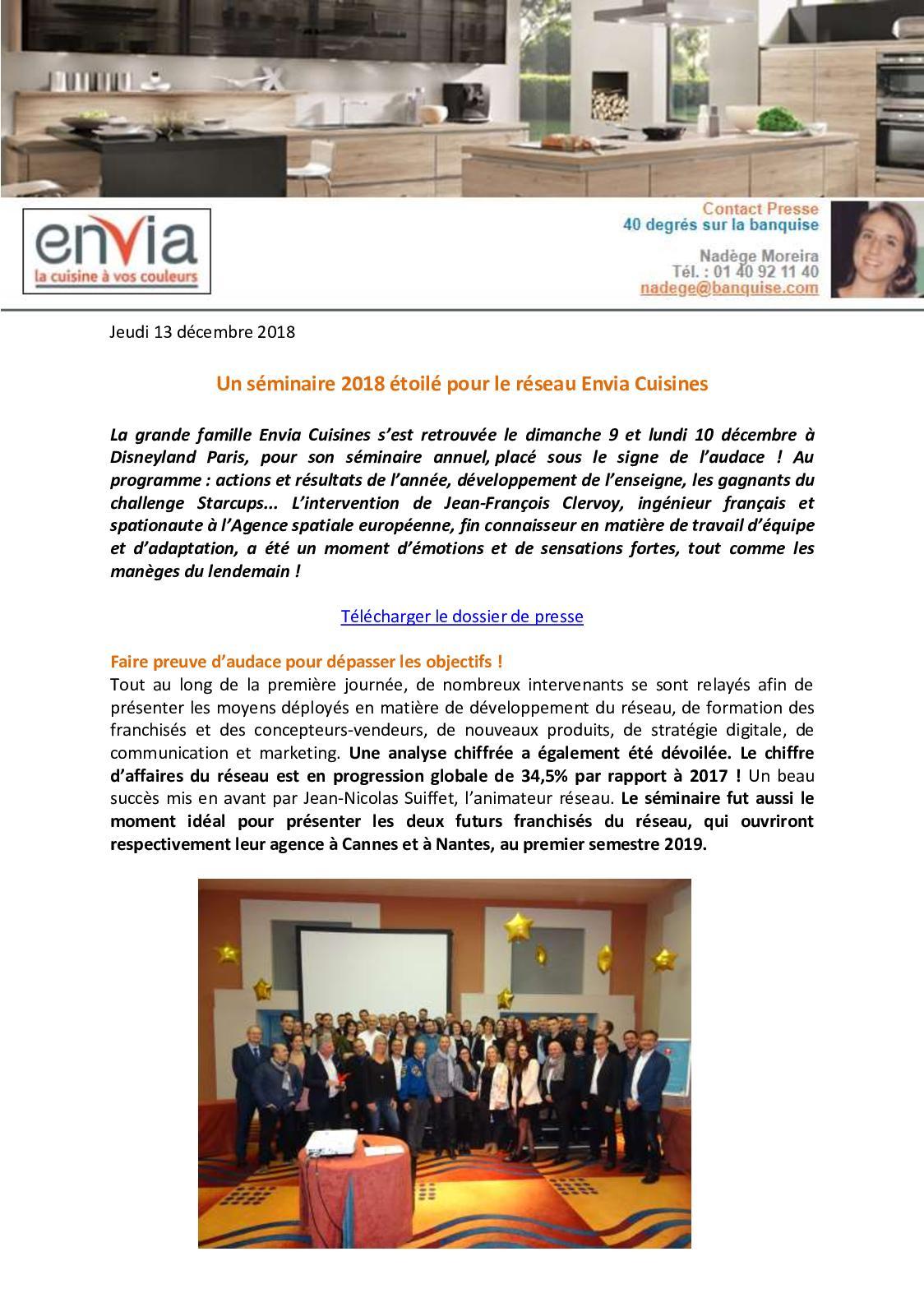 Calameo Envia Cuisines Seminaire 2018