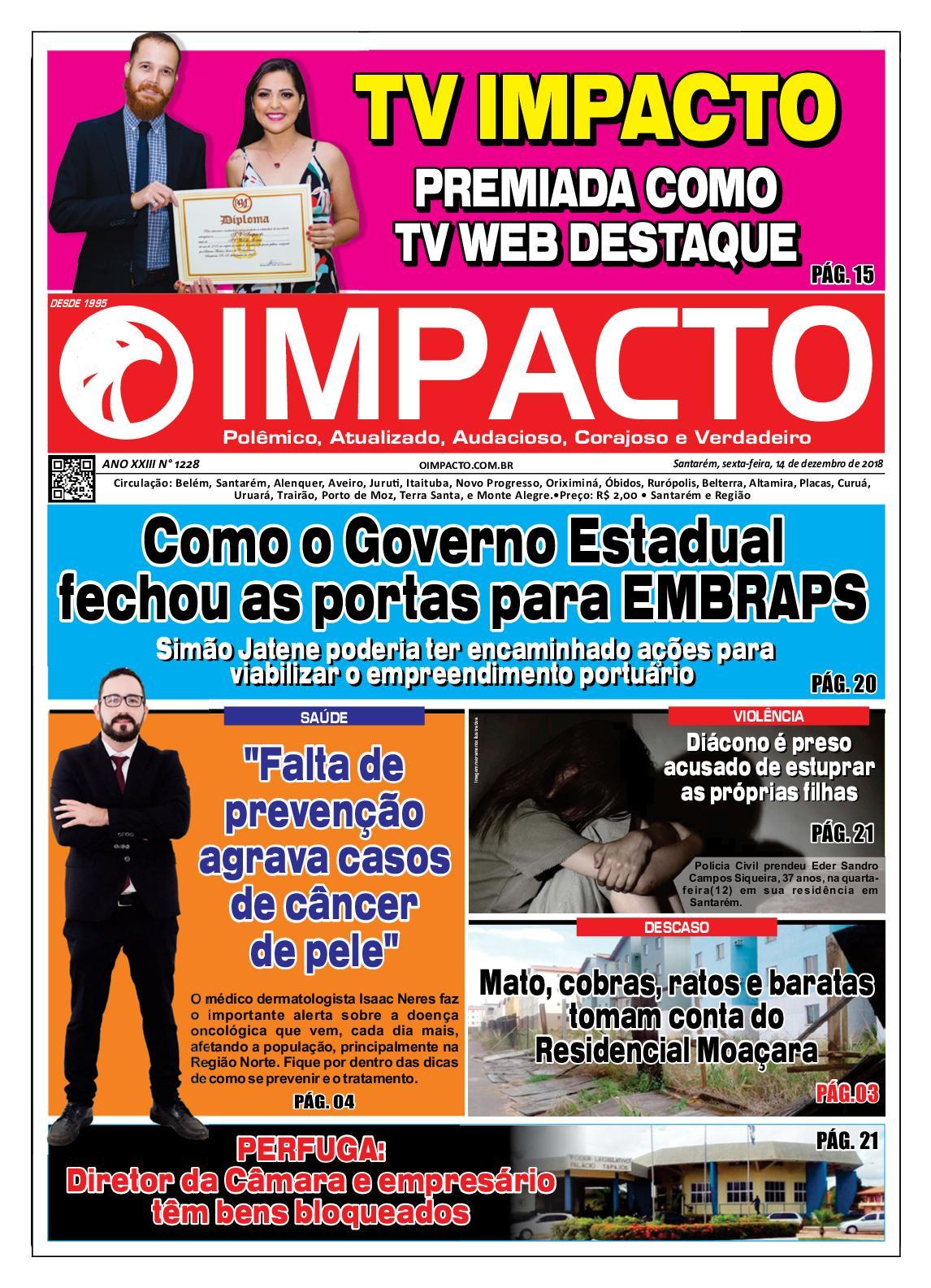 Calaméo - Jornal O Impacto Ed. 1228 150aff06ac