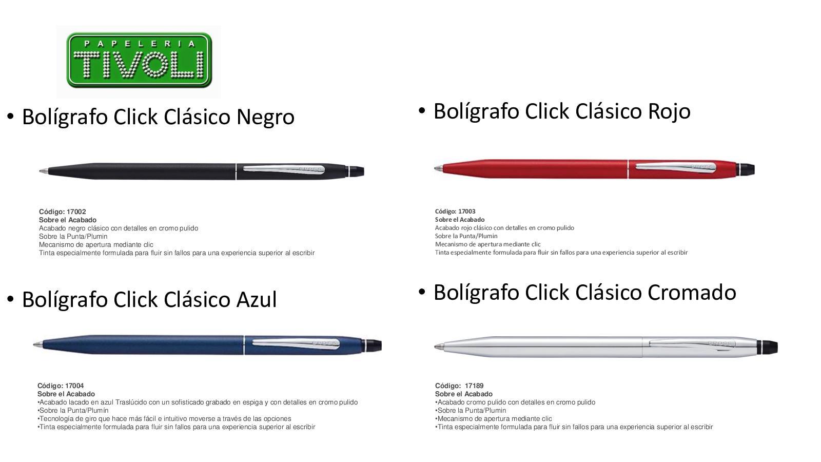 Cross Tech3+ color cromado brillante Bol/ígrafo multi-funcional