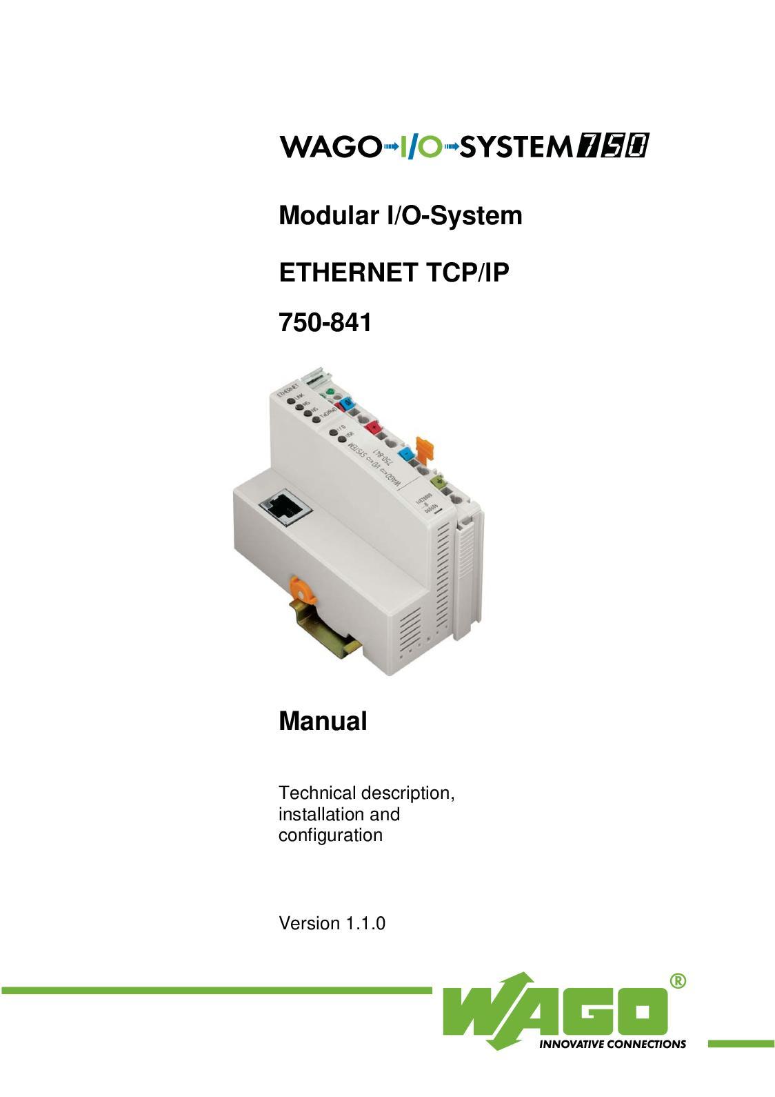 Wago 750-479 Measurement Input Module