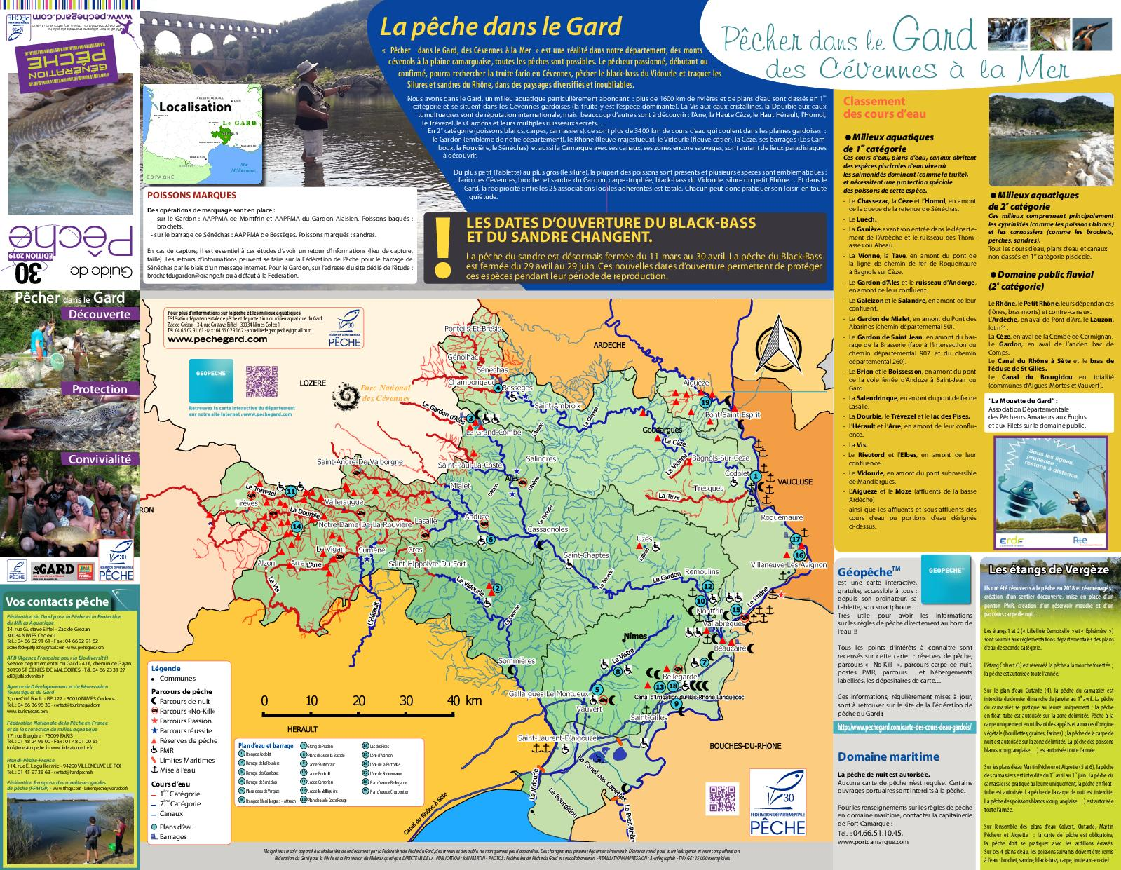 Chemin Des Canaux 30230 Bouillargues calaméo - dépliant pêche gard 2019