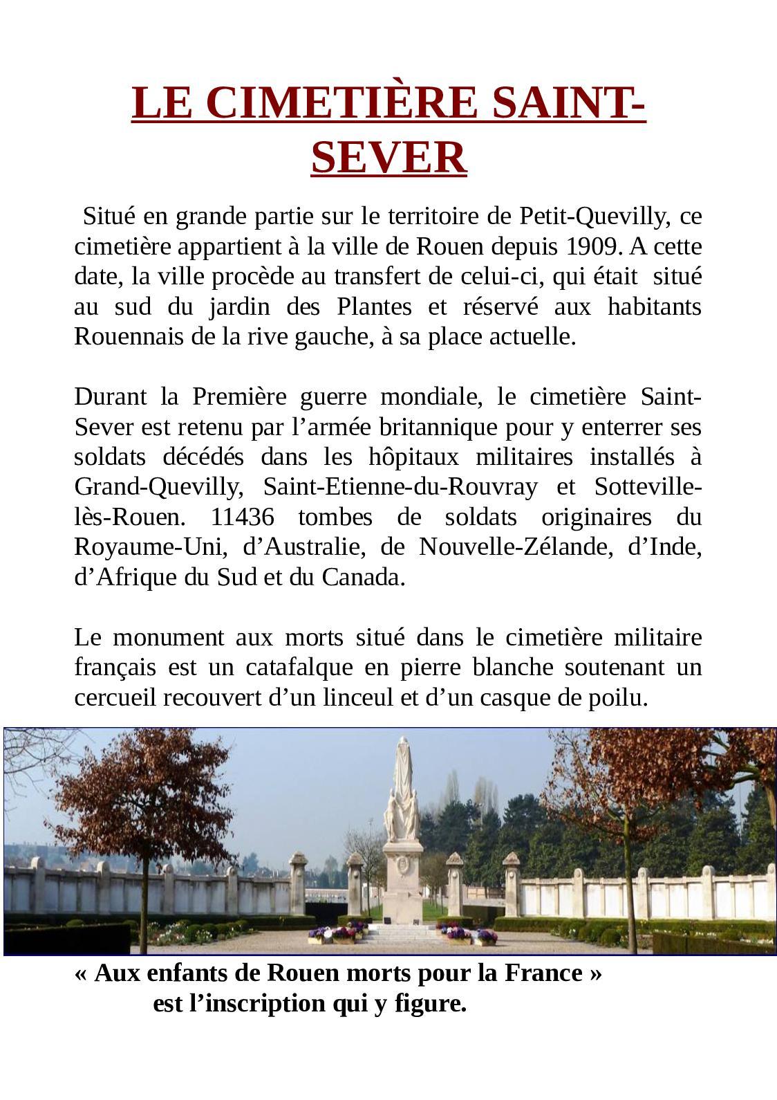 Calaméo - Cimetière Saint-Sever...