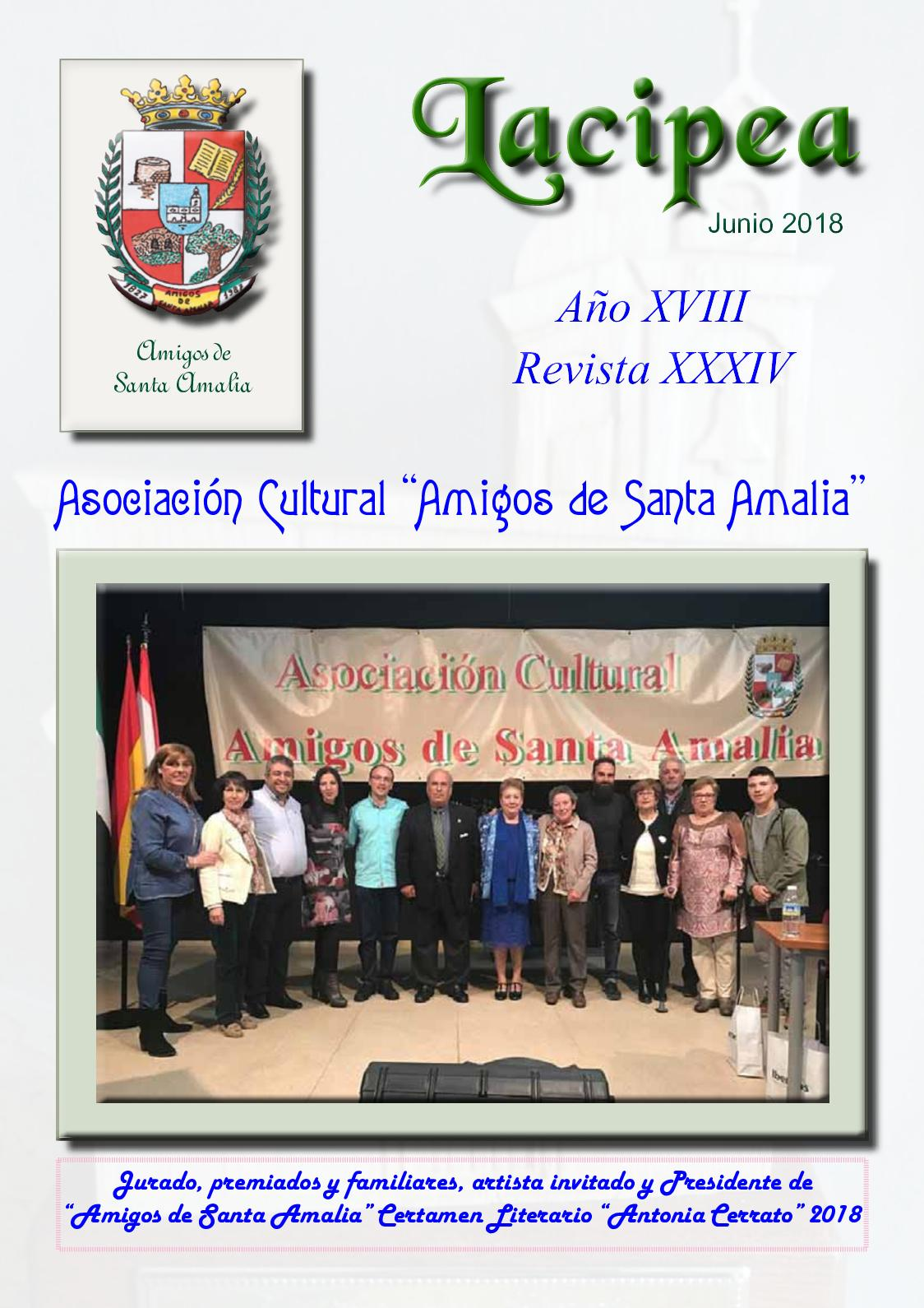 f8079095 Calaméo - Lacipea nº junio/2018. Revista de Santa Amalia