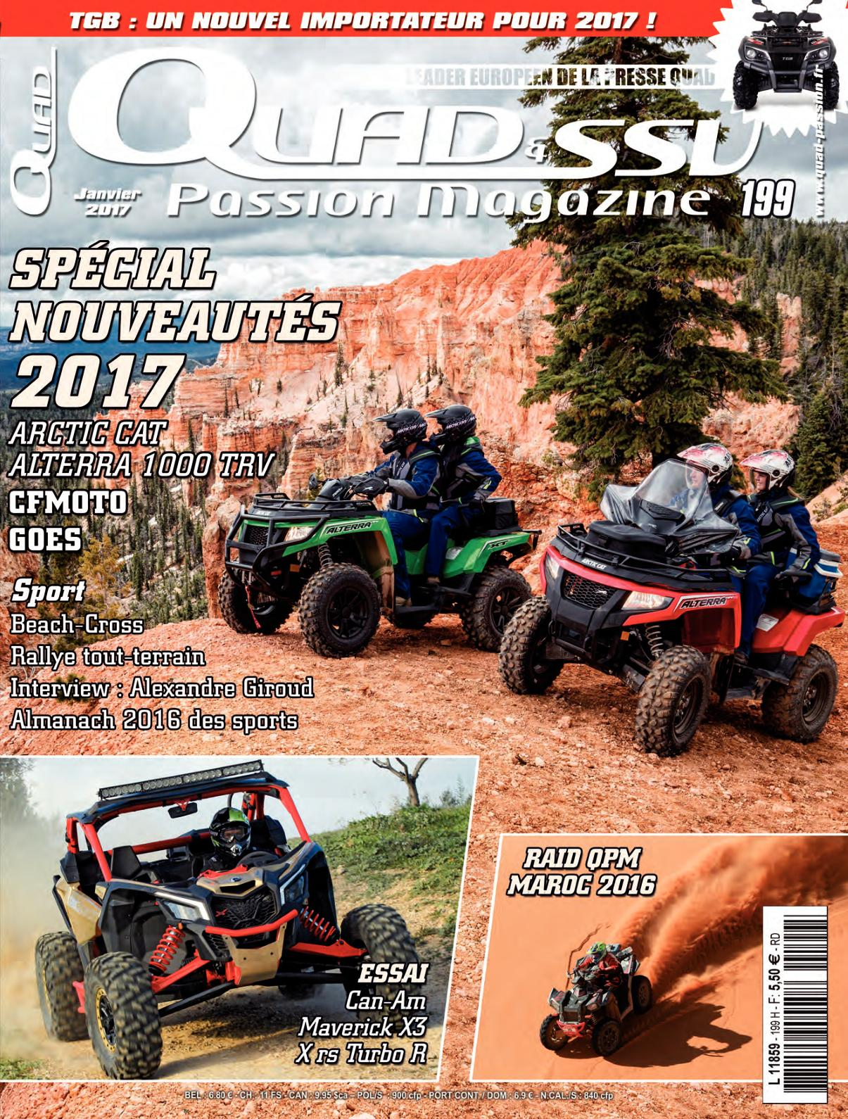 Passion Et Ssv Magazine Quad Calaméo N°199 iPkZOXu