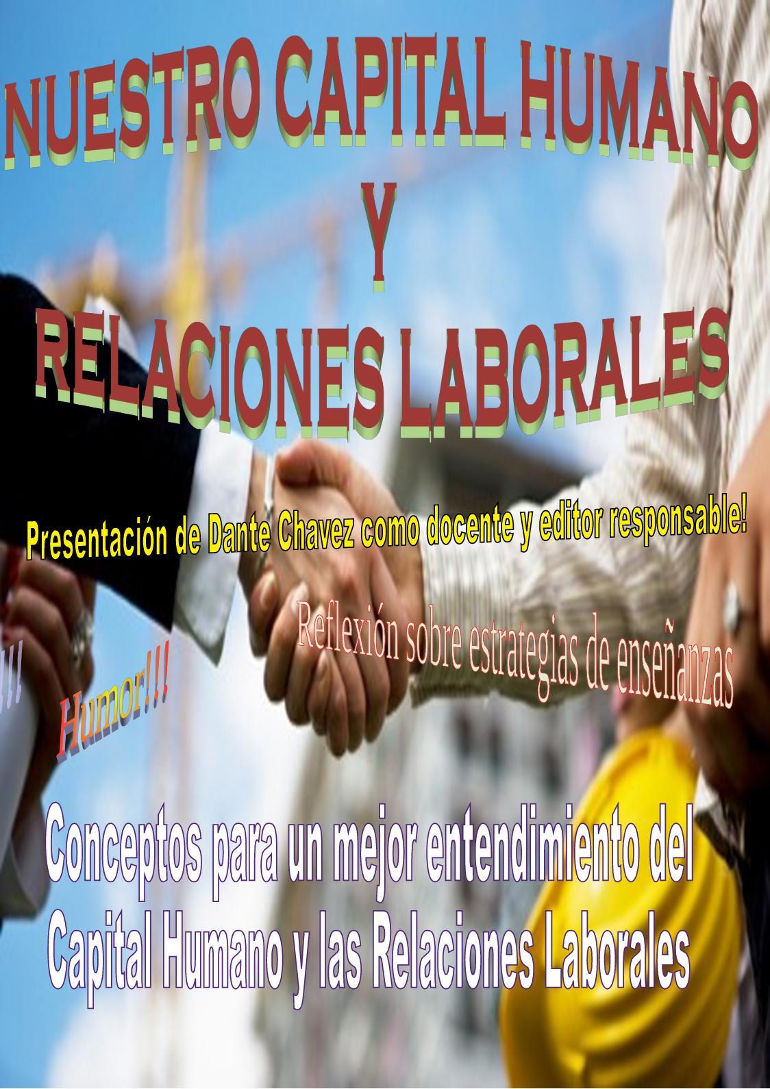 59a74dcc84ac Calaméo - Nuestro Capital Humano y Relaciones Laborales