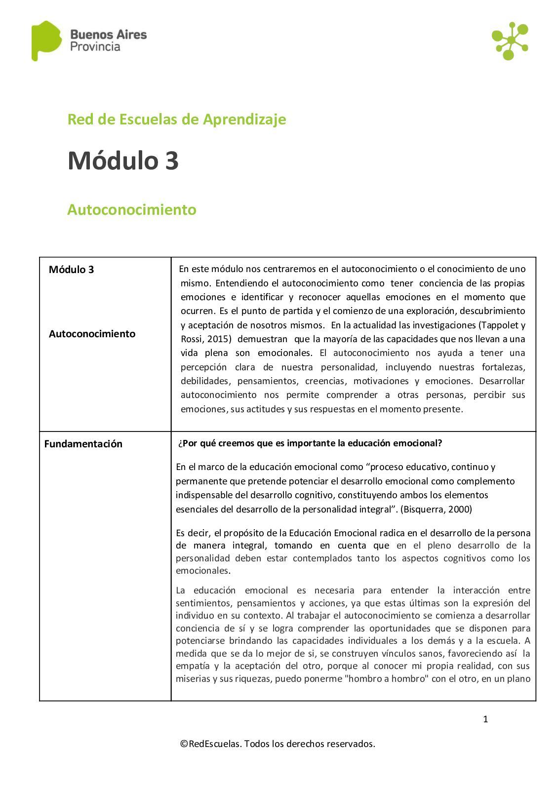 Calaméo Cuadernillo Modulo 3 1 Doc Docx