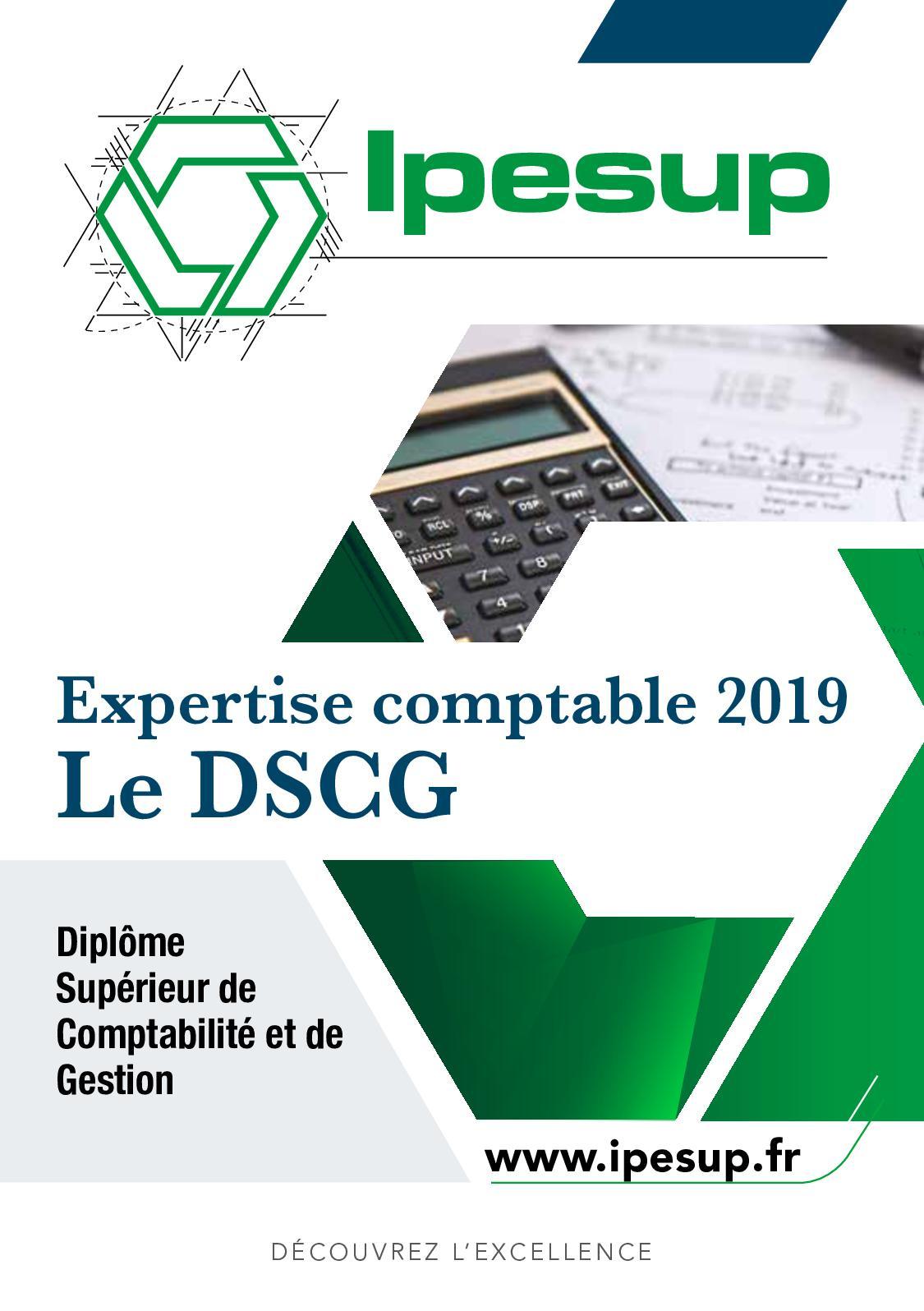 Calendrier Dscg 2019.Calameo Ipesup Dscg Brochure 2019