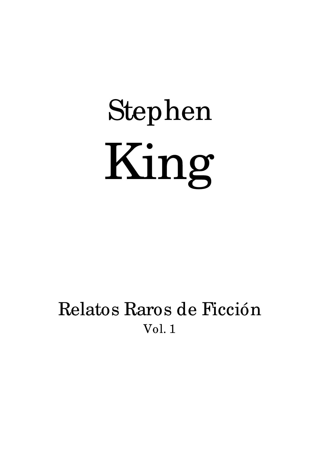 Calaméo - Stephen King Relatos Raros 2824de024b18