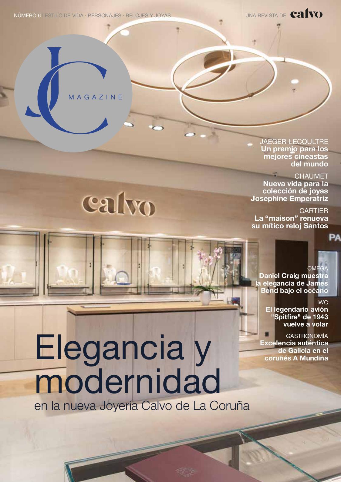 17ac0c7efc3f Calaméo - Revista Joyeria Calvo Nº6 - 2018