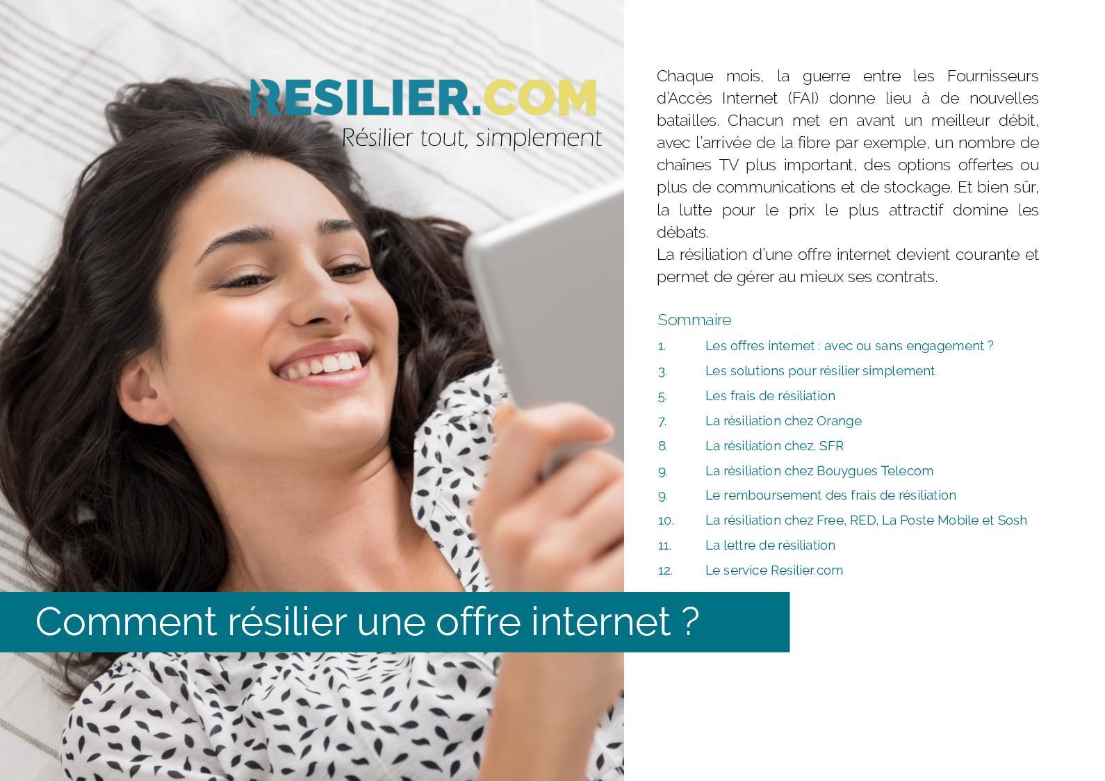 Calaméo Comment Résilier Un Abonnement Internet Et Sa Box