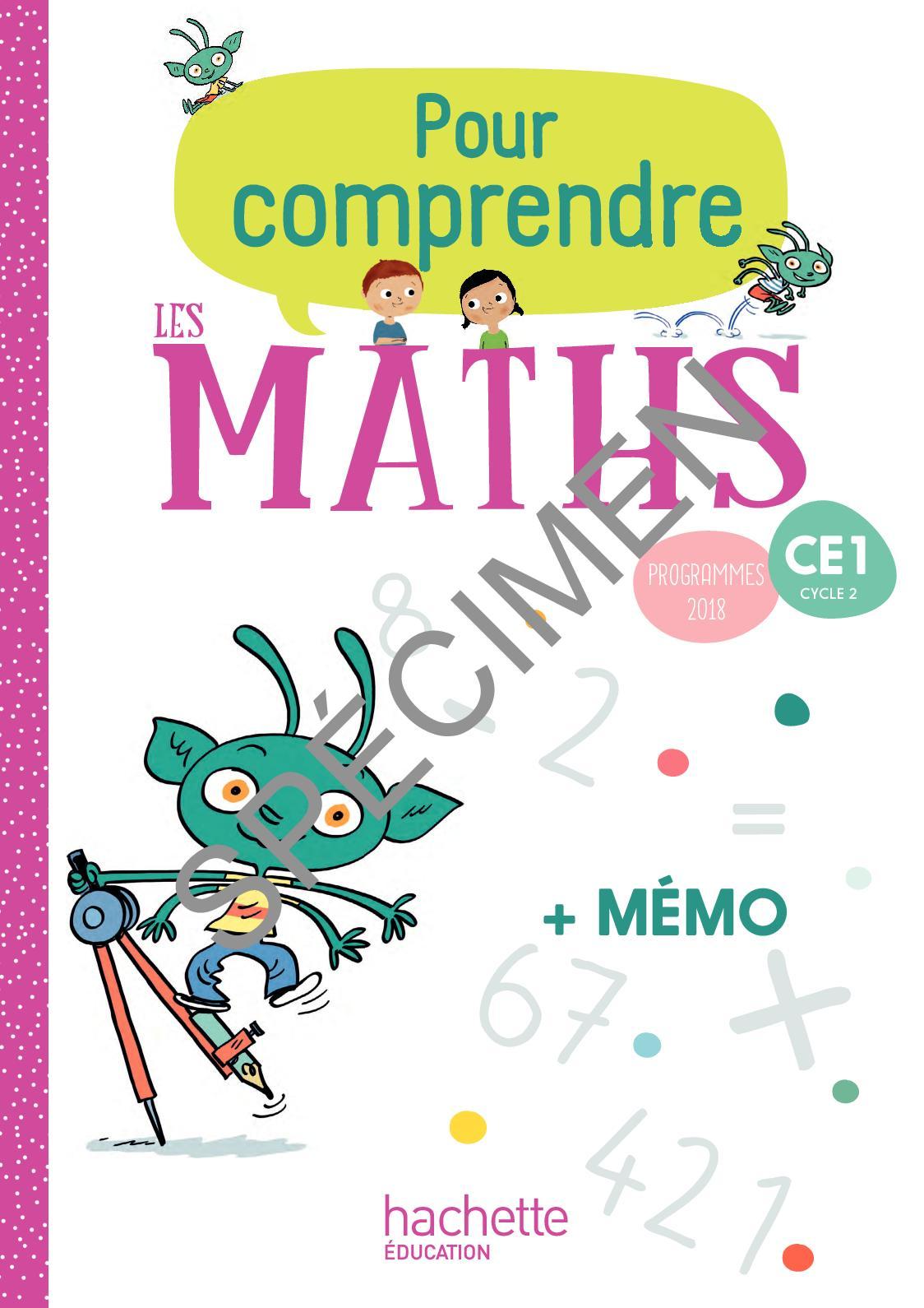 Calameo Pour Comprendre Les Maths Ce1 Edition 2019 Fichier Memo