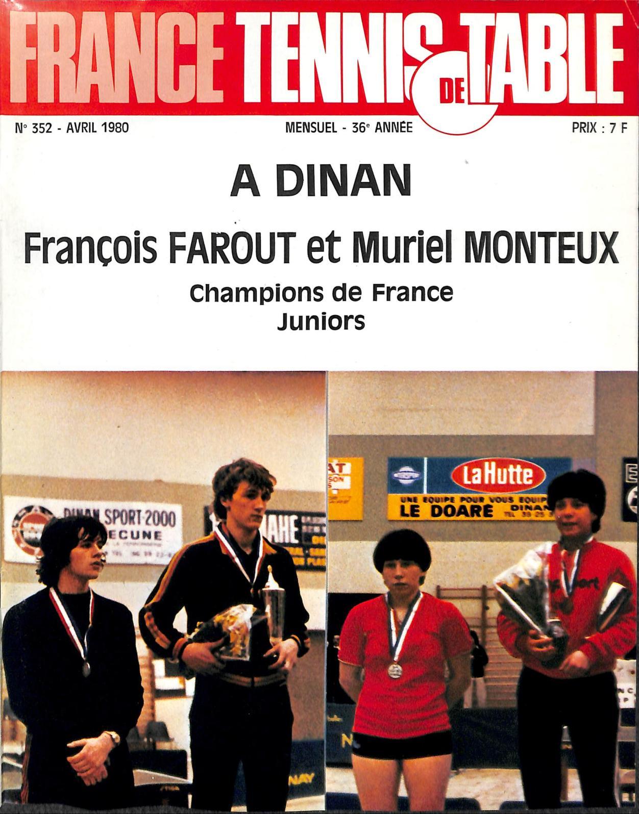 De 1980 Tennis Calaméo 04 352 France Table OP0wkX8n