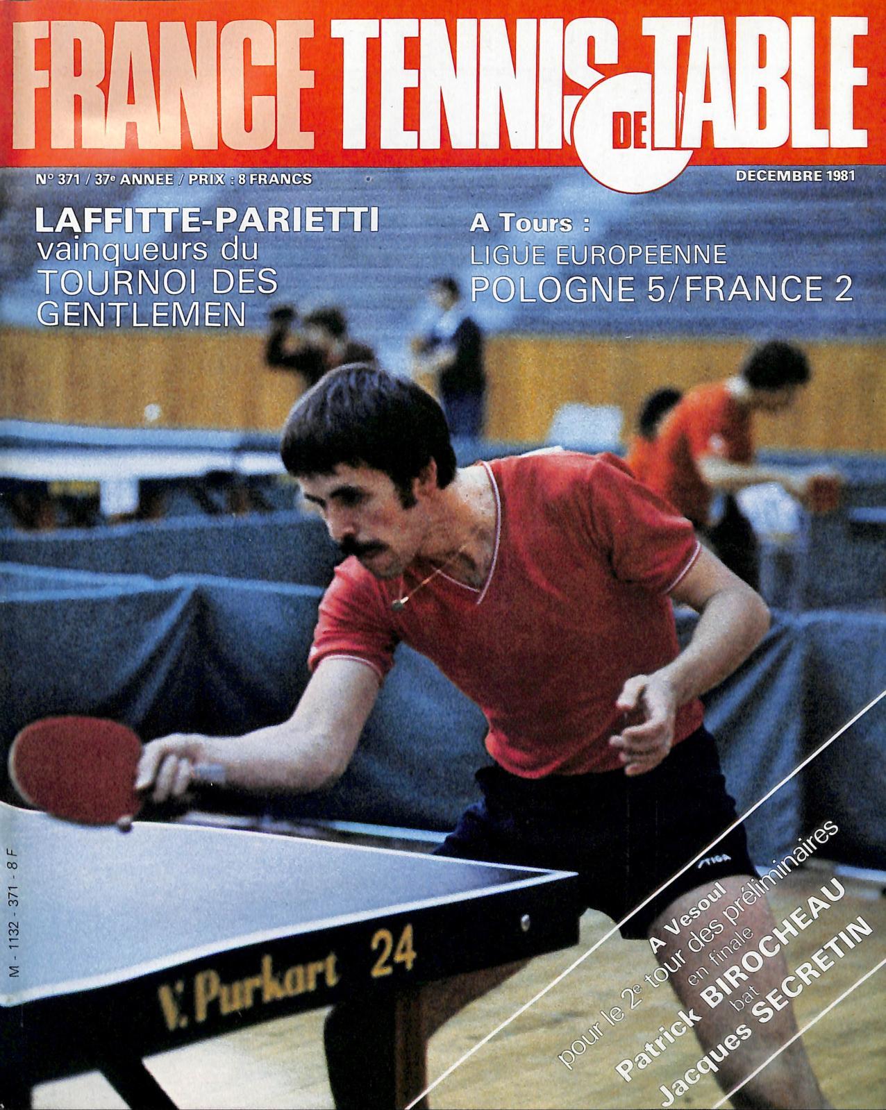 12 France 1981 371 De Table Tennis Calaméo nX8OkwPN0
