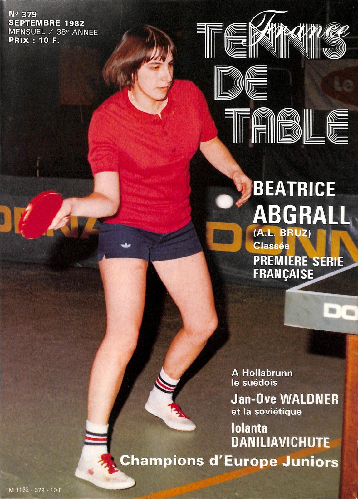 28f425ebe165d Calaméo - 1982 09 379 FRANCE TENNIS DE TABLE