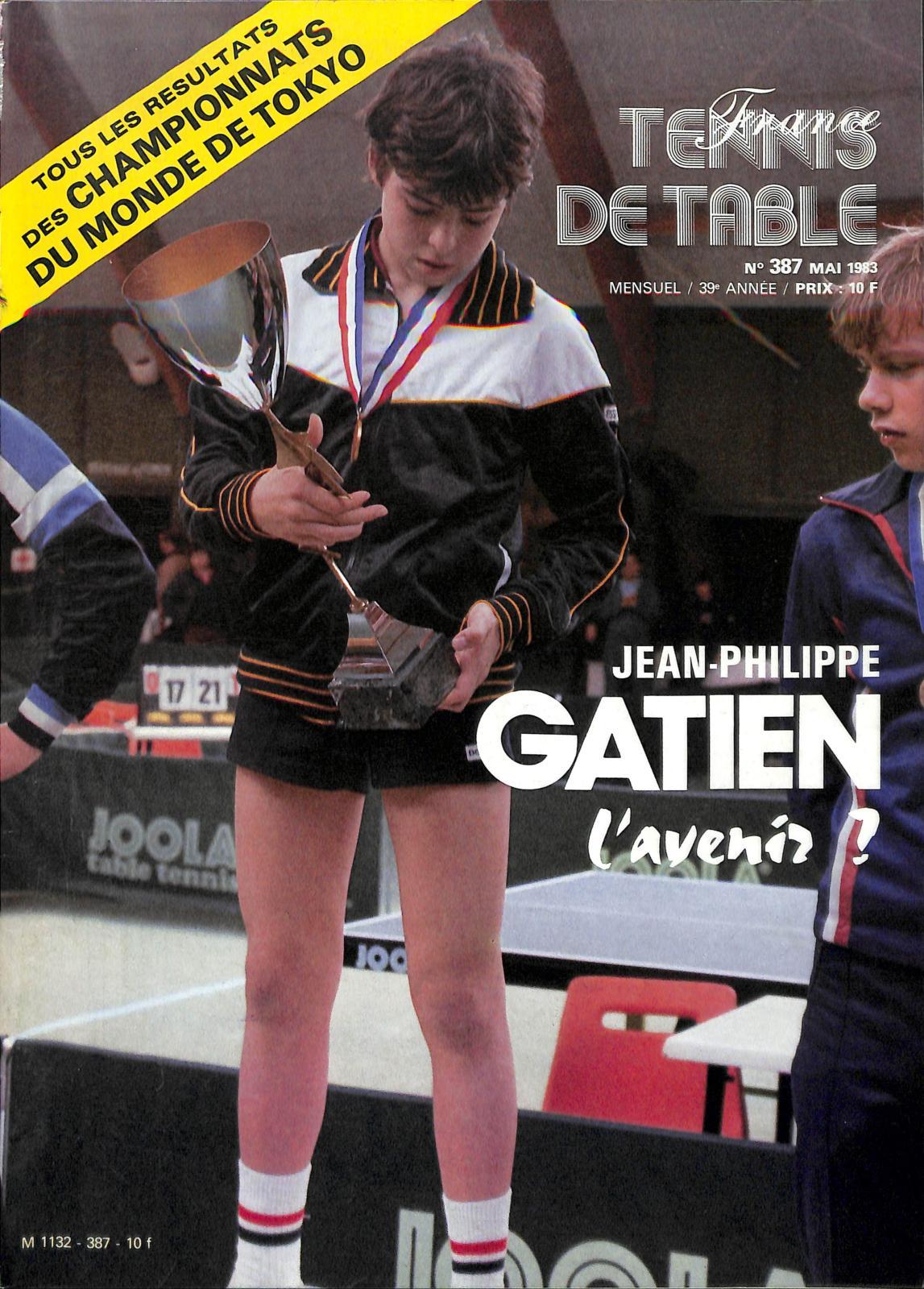 on sale 51ec3 8ca22 Calaméo - 1983 05 387 FRANCE TENNIS DE TABLE