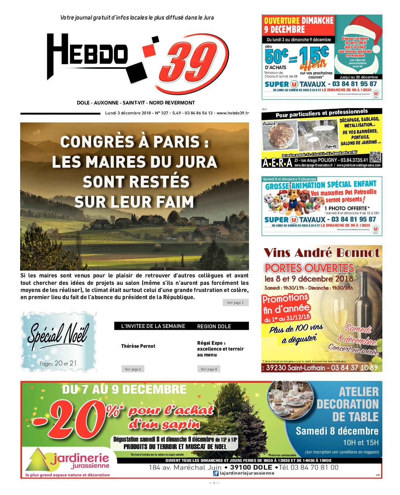 Calaméo - Hebdo Dole S49 c4cb74ffe5ac