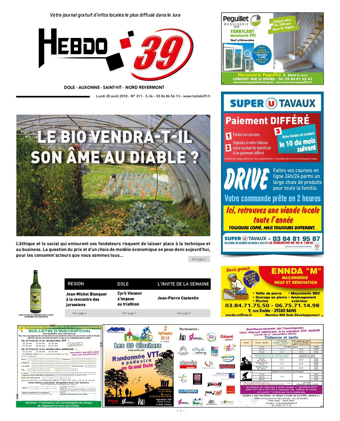 Calaméo - Hebdo Dole Sem. 34 0b29403c6a56