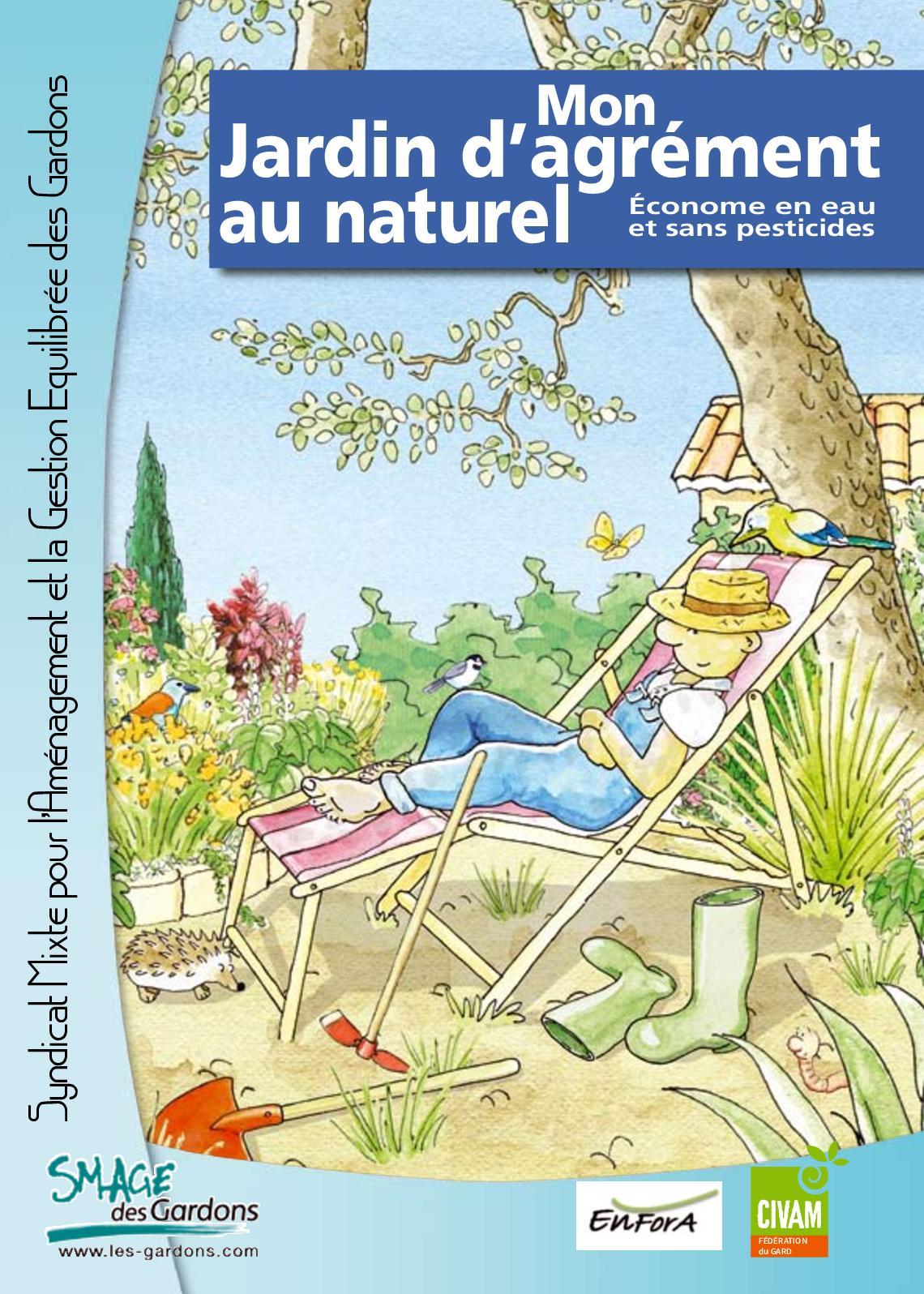 """Plante Méditerranéenne Sans Arrosage calaméo - livret """"mon jardin d'agrément au naturel"""""""