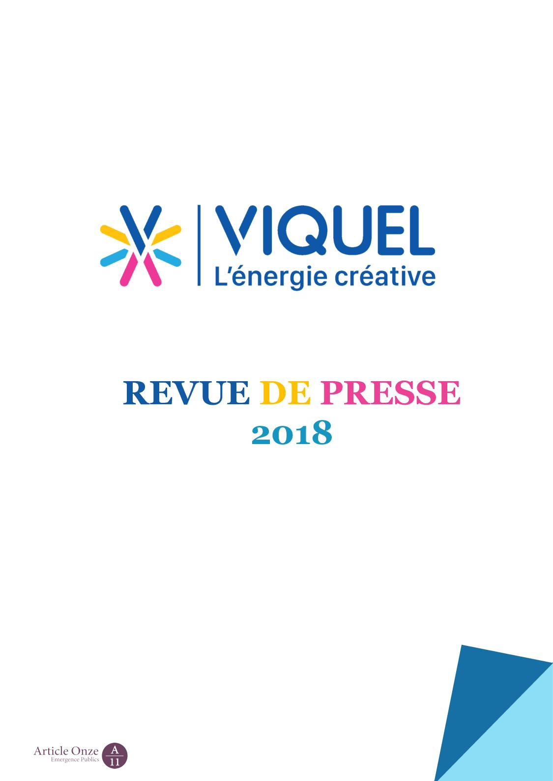 Calaméo De revue 2018 Viquel Presse rxBoedC