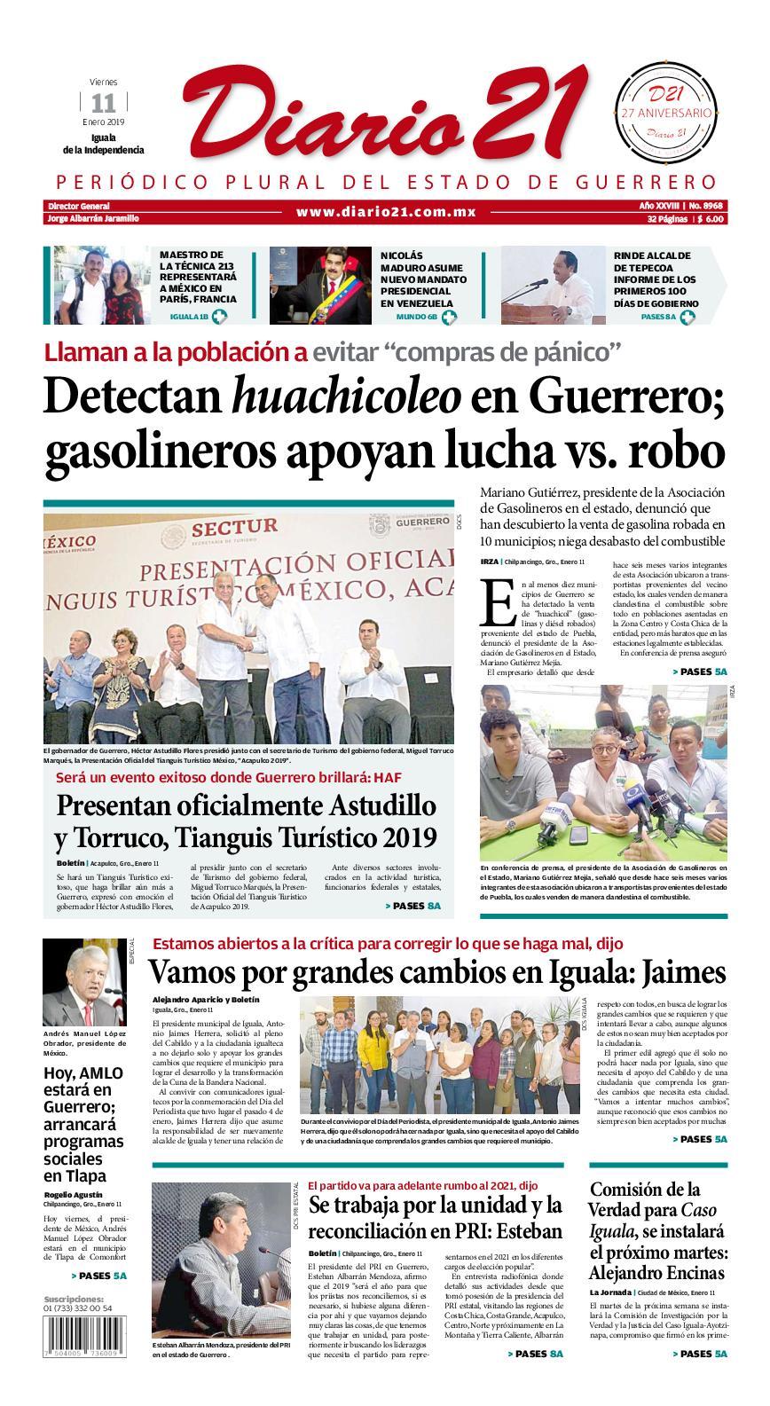 Calaméo - Diario 21 - 11 Enero 2019 256a4ea221d