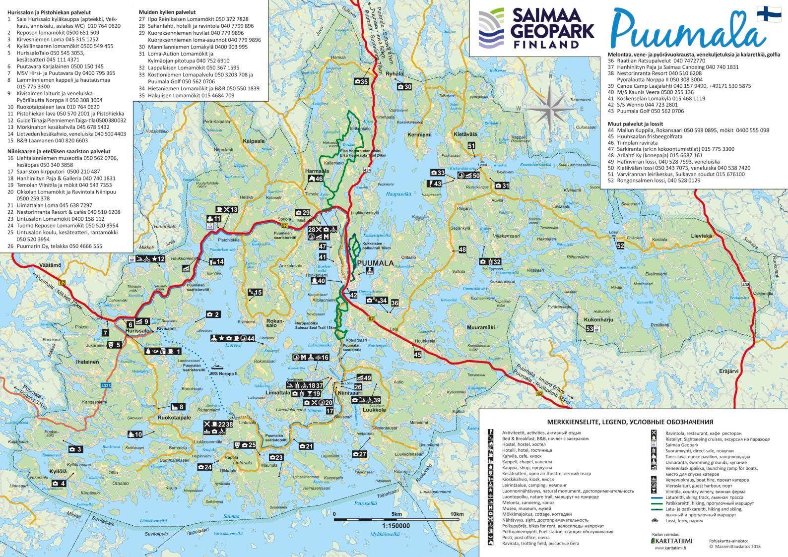 Calameo Puumala Kartta 2019