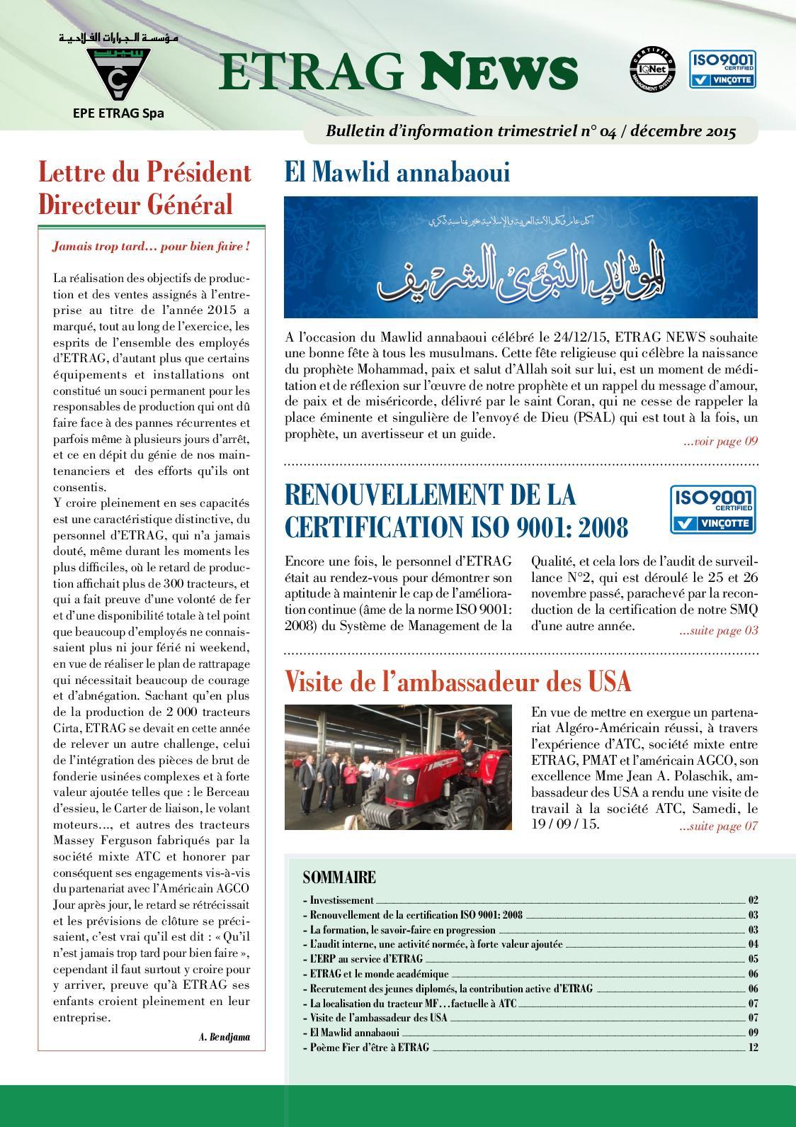 Calaméo Etrag News N4