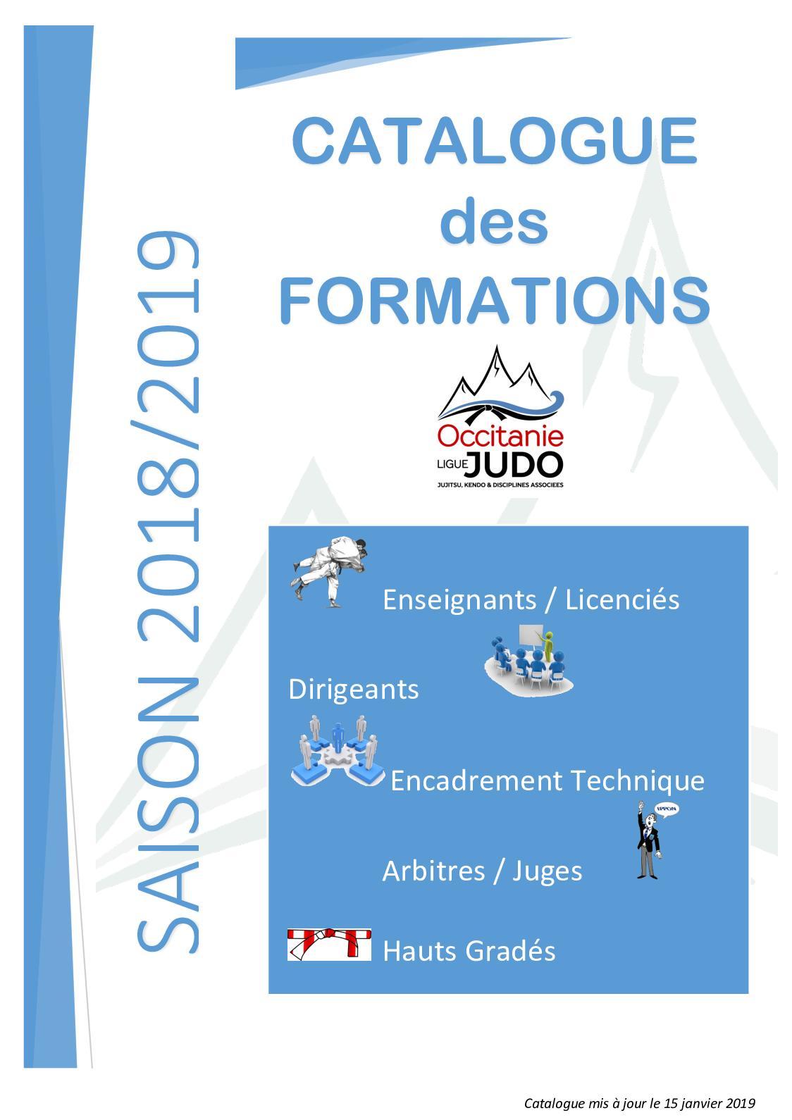 Calaméo Catalogue De Formation 2018 2019 Ligue Occitanie