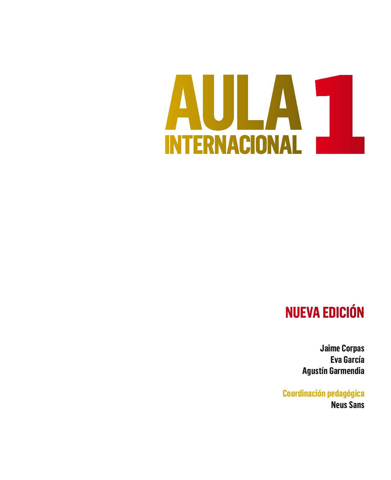 Aula Internacional A1-B2