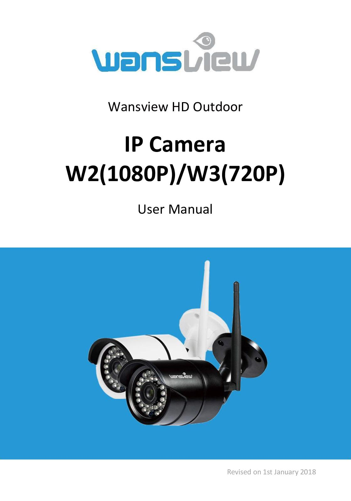 Calaméo - User Manual Of Wansview Outdoor Camera W2 & W3