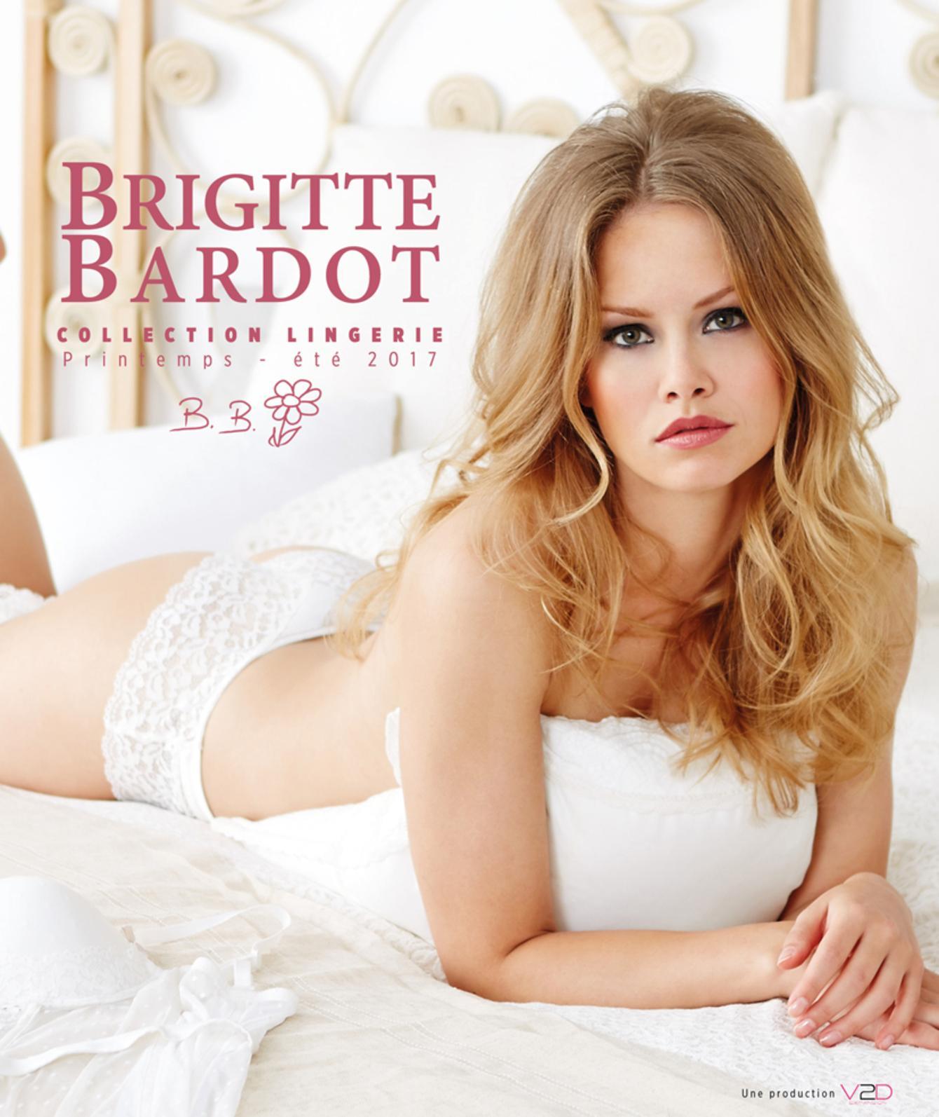 Brigitte BARDOT Lingerie Printemps Eté 2017
